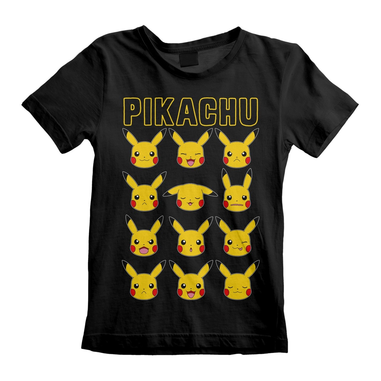 Pokemon: Pikachu Faces (Kids Tee) (3-4YR) - 1