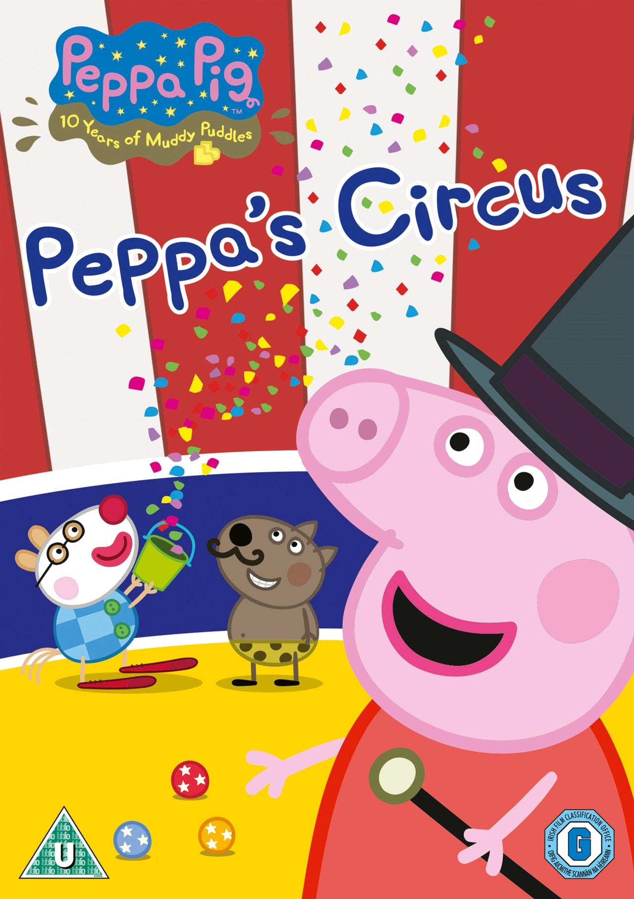 Peppa Pig Peppa S Circus Dvd Free Shipping Over 20 Hmv Store