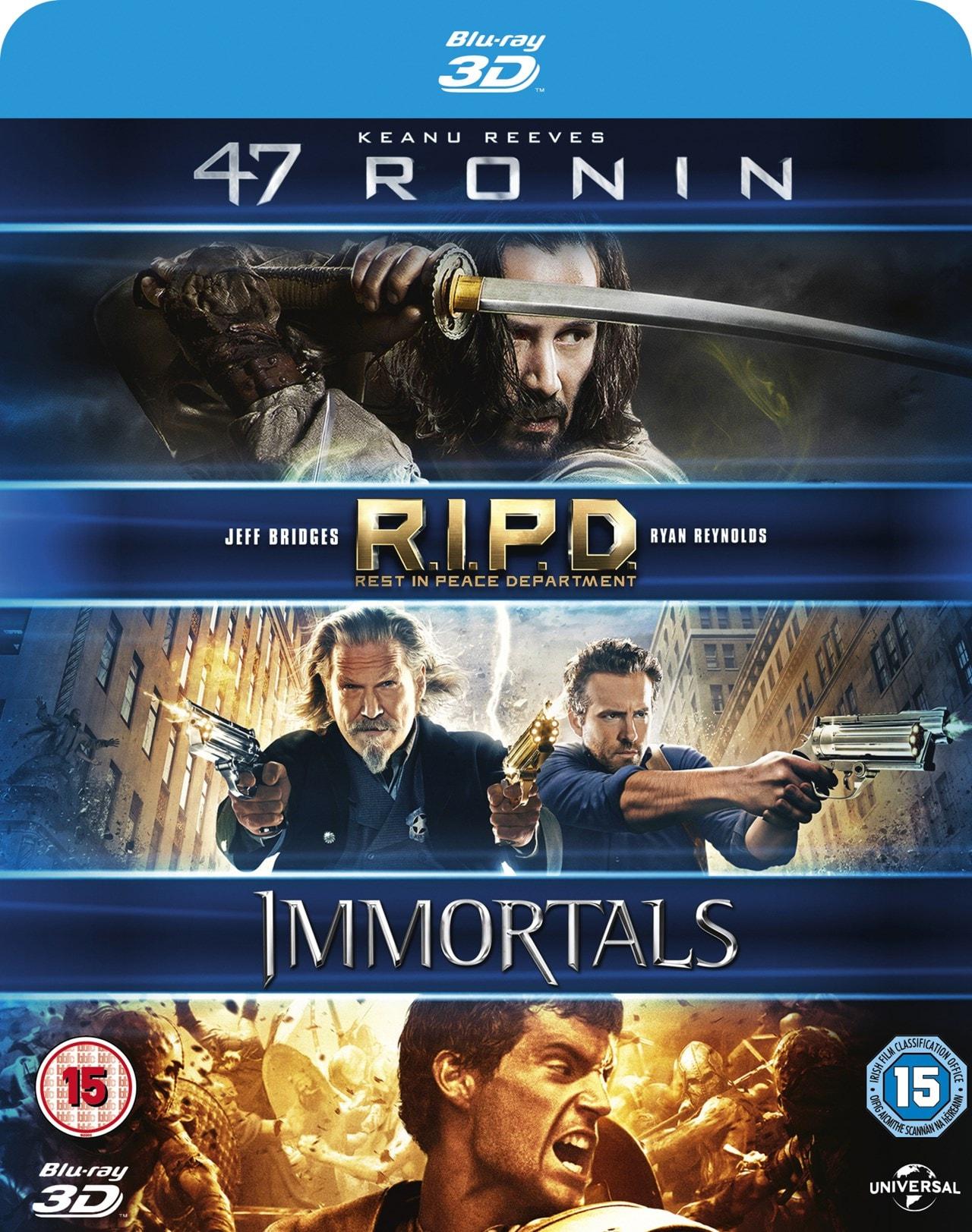47 Ronin/RIPD/Immortals - 1