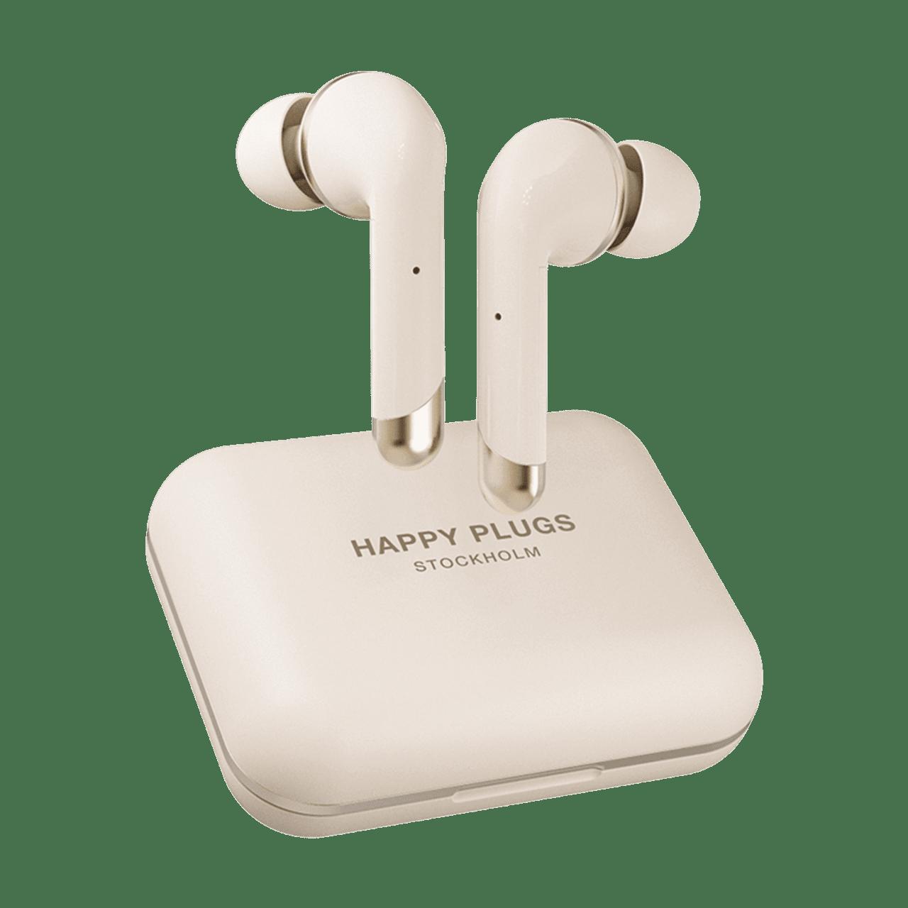 Happy Plugs Air1 Plus Gold In Ear True Wireless Bluetooth Earphones - 1