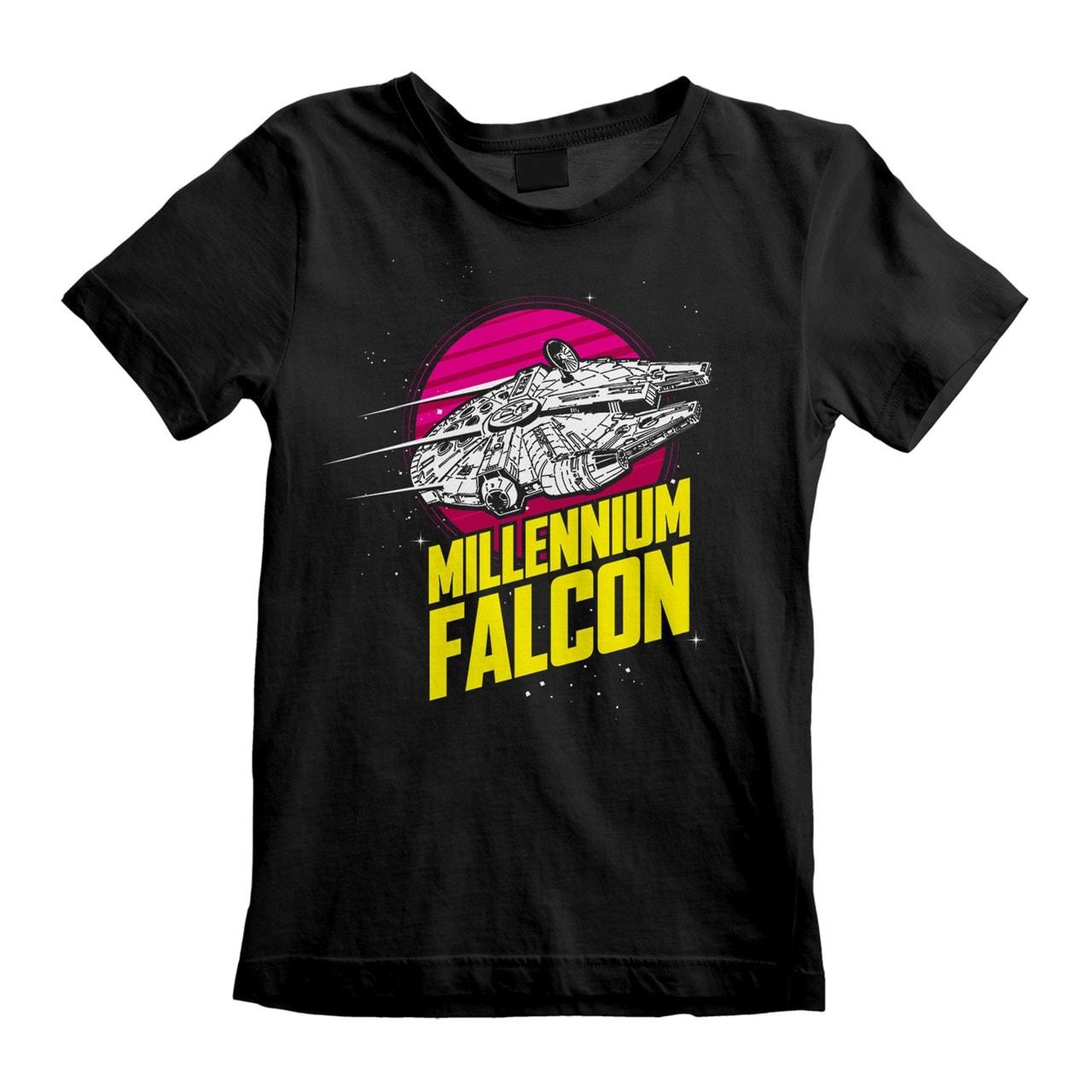 Star Wars: Millenium Falcon (Kids Tee) (3-4YR) - 1