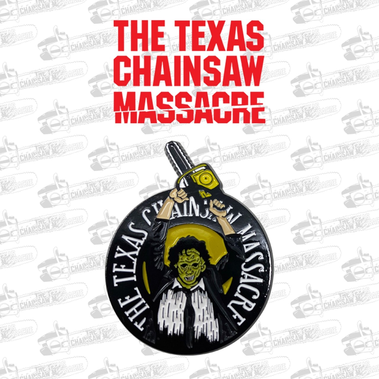 Texas Chainsaw Massacre: Limited Edition Pin Badge - 2