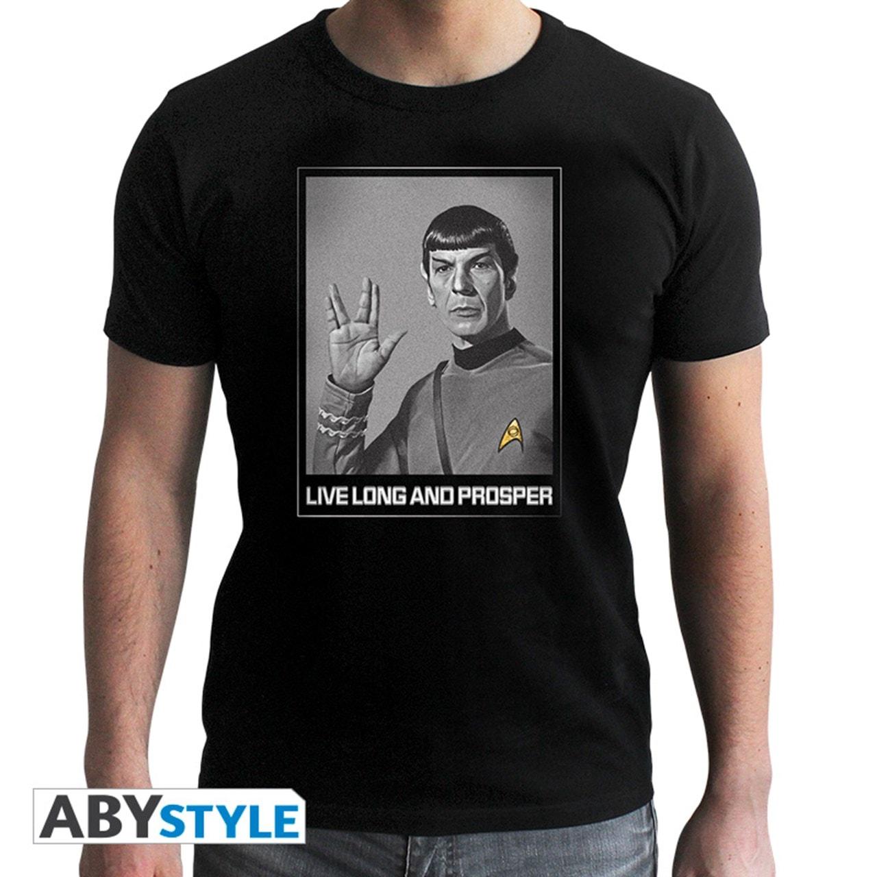 Star Trek: Spock Live Long And Prosper (Extra Large) - 1