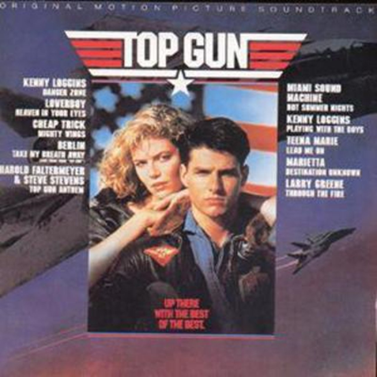Original Motion Picture Soundtrack 'Top Gun' - 1