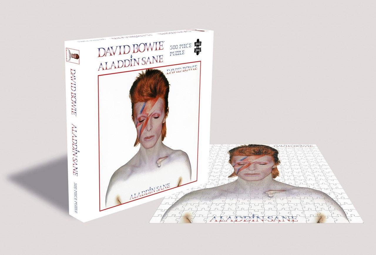 David Bowie: Aladdin Sane: 500 Piece Jigsaw Puzzle - 1