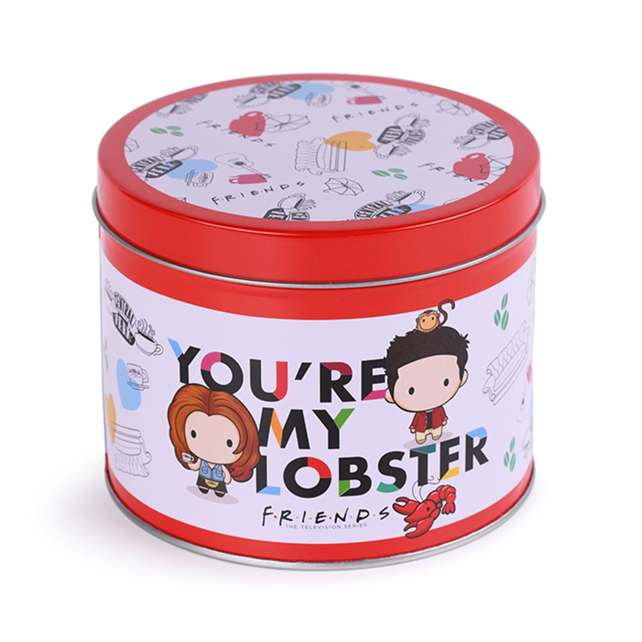 You're My Lobster: Friends Mug Gift Set in Tin - 3