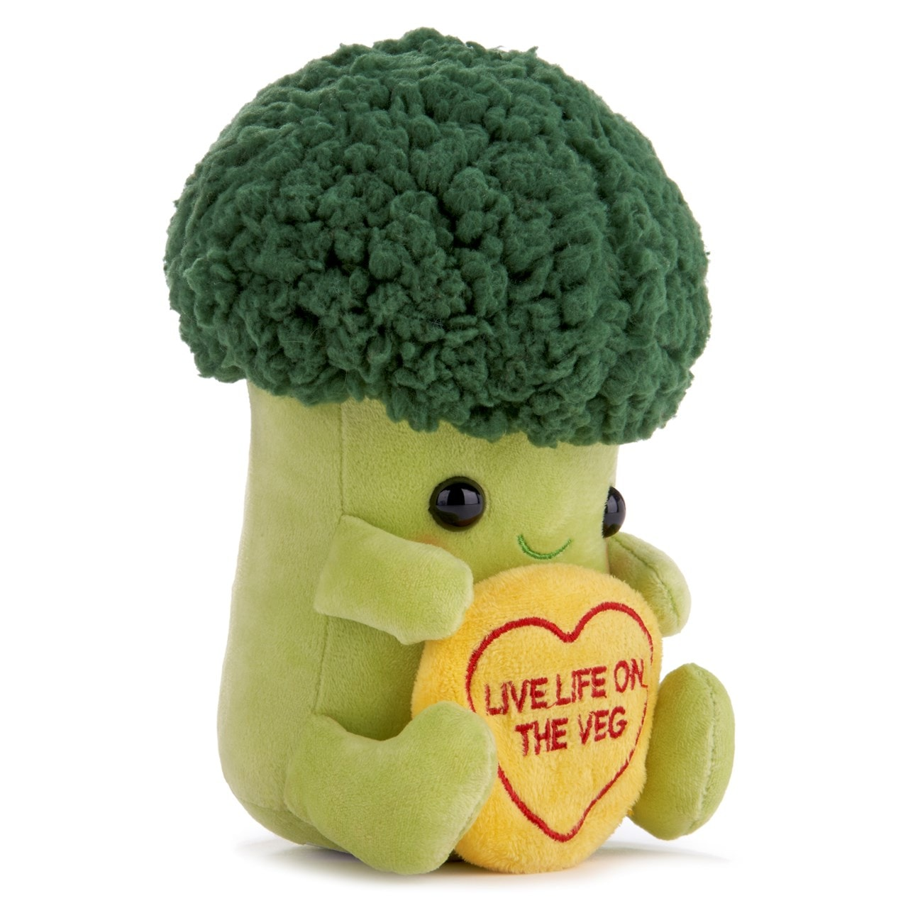 Brian the Broccoli: Swizzles Love Hearts Collection Plush Toy - 2