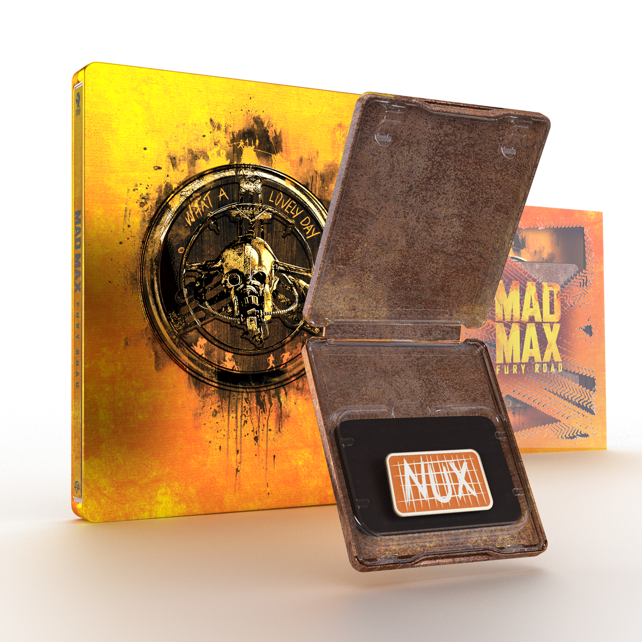 Mad Max: Fury Road Titans Of Cult Limited Edition 4K Steelbook - 2