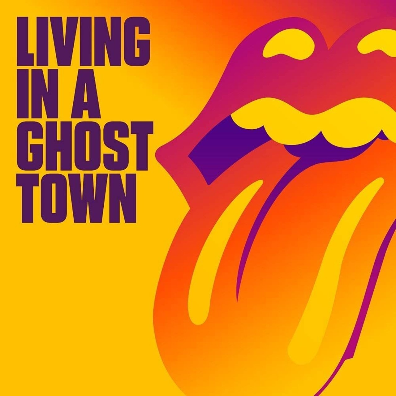 Living in a Ghost Town - Limited Edition Orange Vinyl - 2