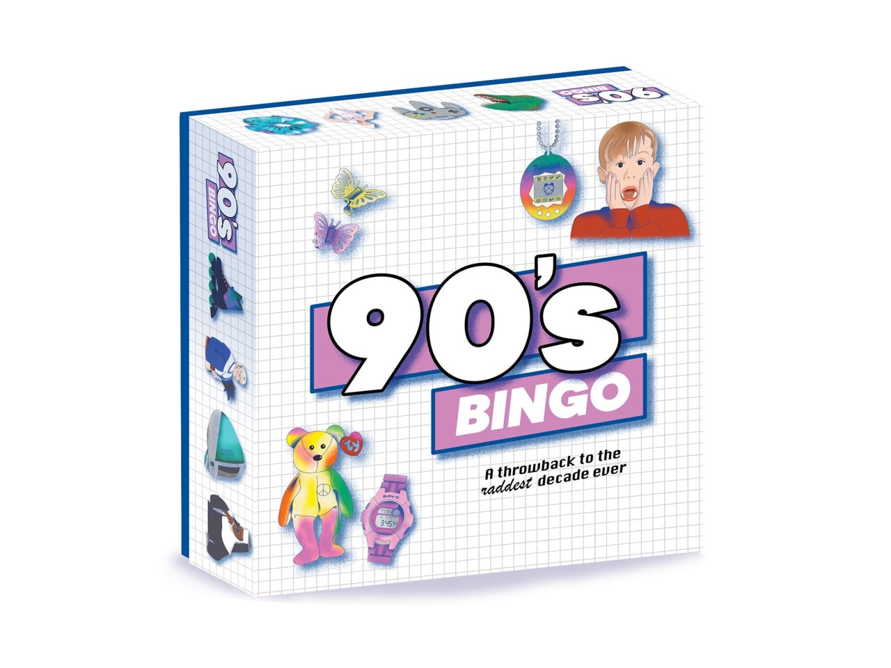 90'S Bingo: Throwback To The Raddest Decade Ever Board Game - 5