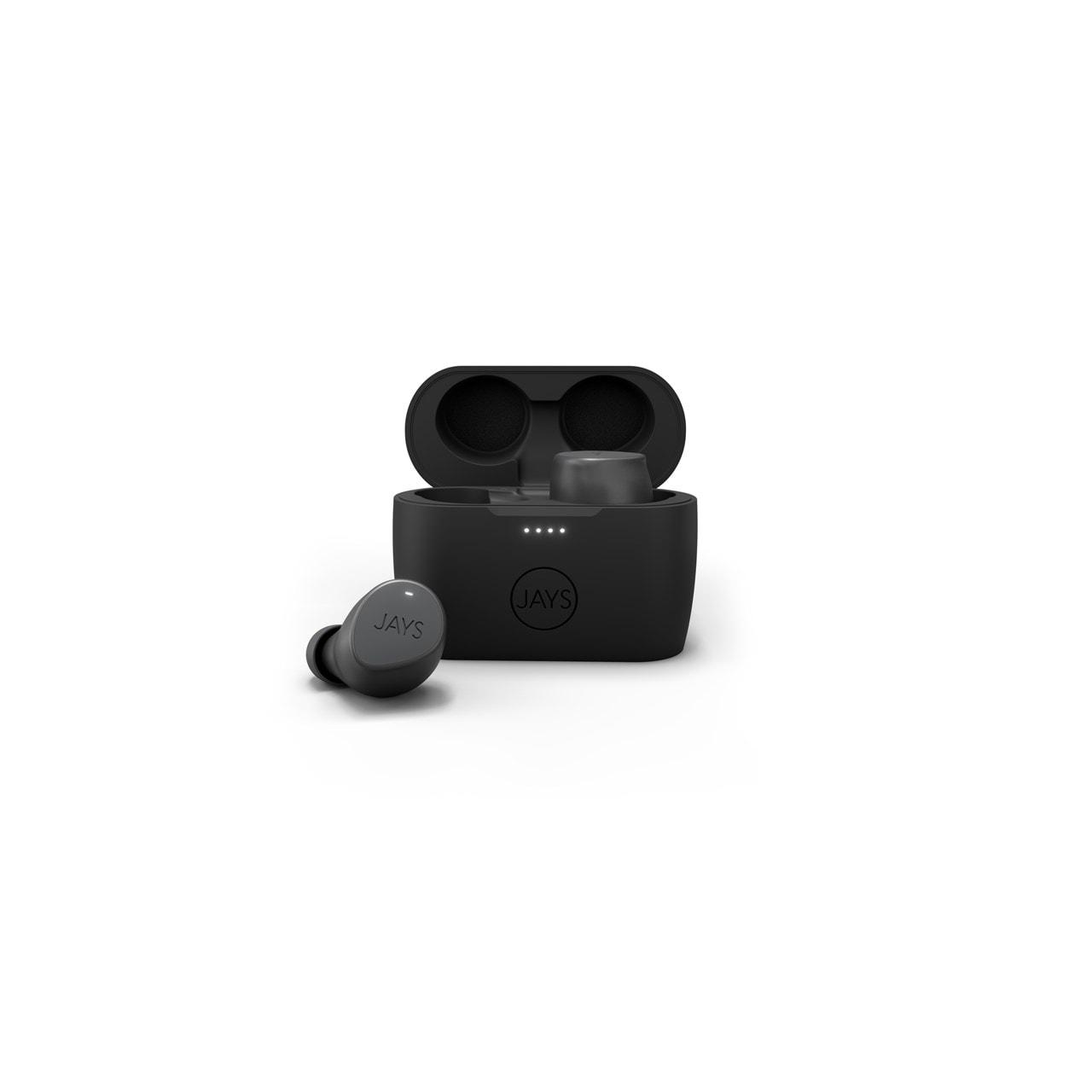 Jays M-Seven Grey True Wireless Bluetooth Earphones - 1