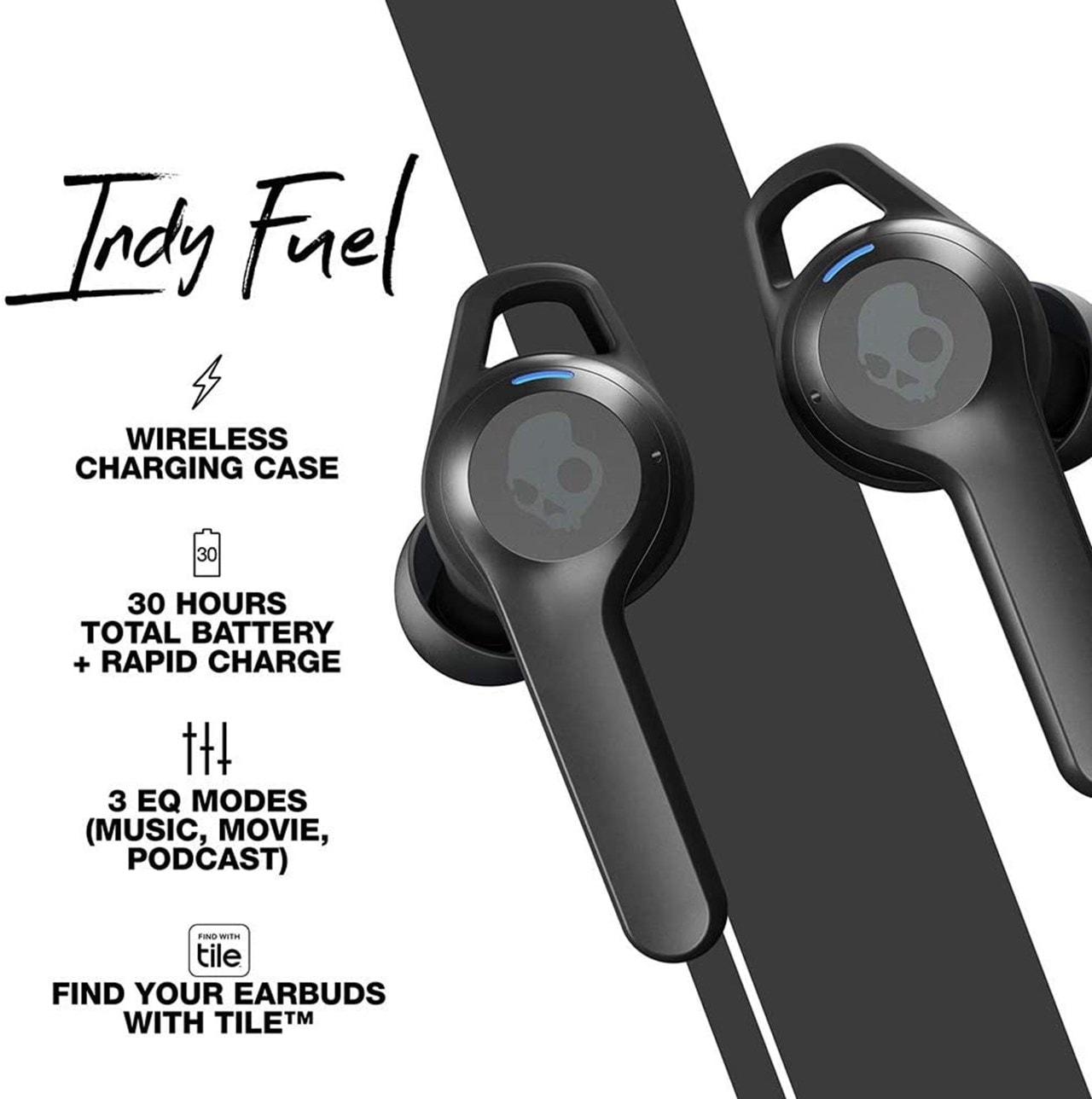 Skullcandy Indy Fuel True Black True Wireless Earphones - 4