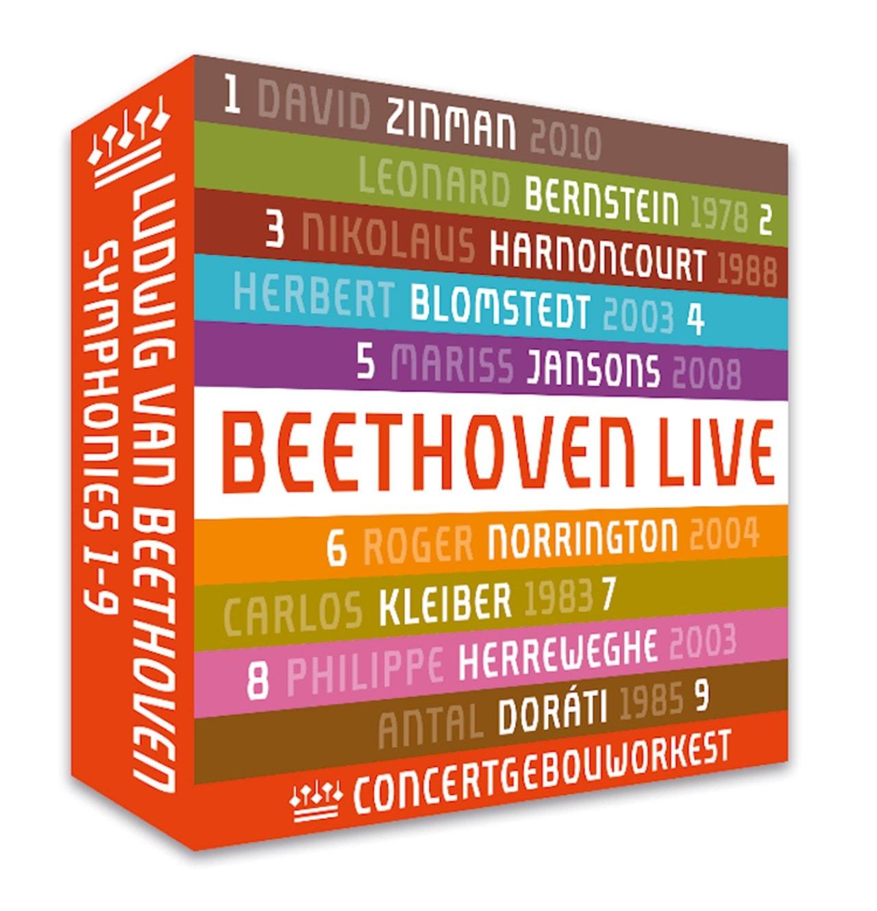 Ludwig Van Beethoven: Symphonies 1-9 - 1