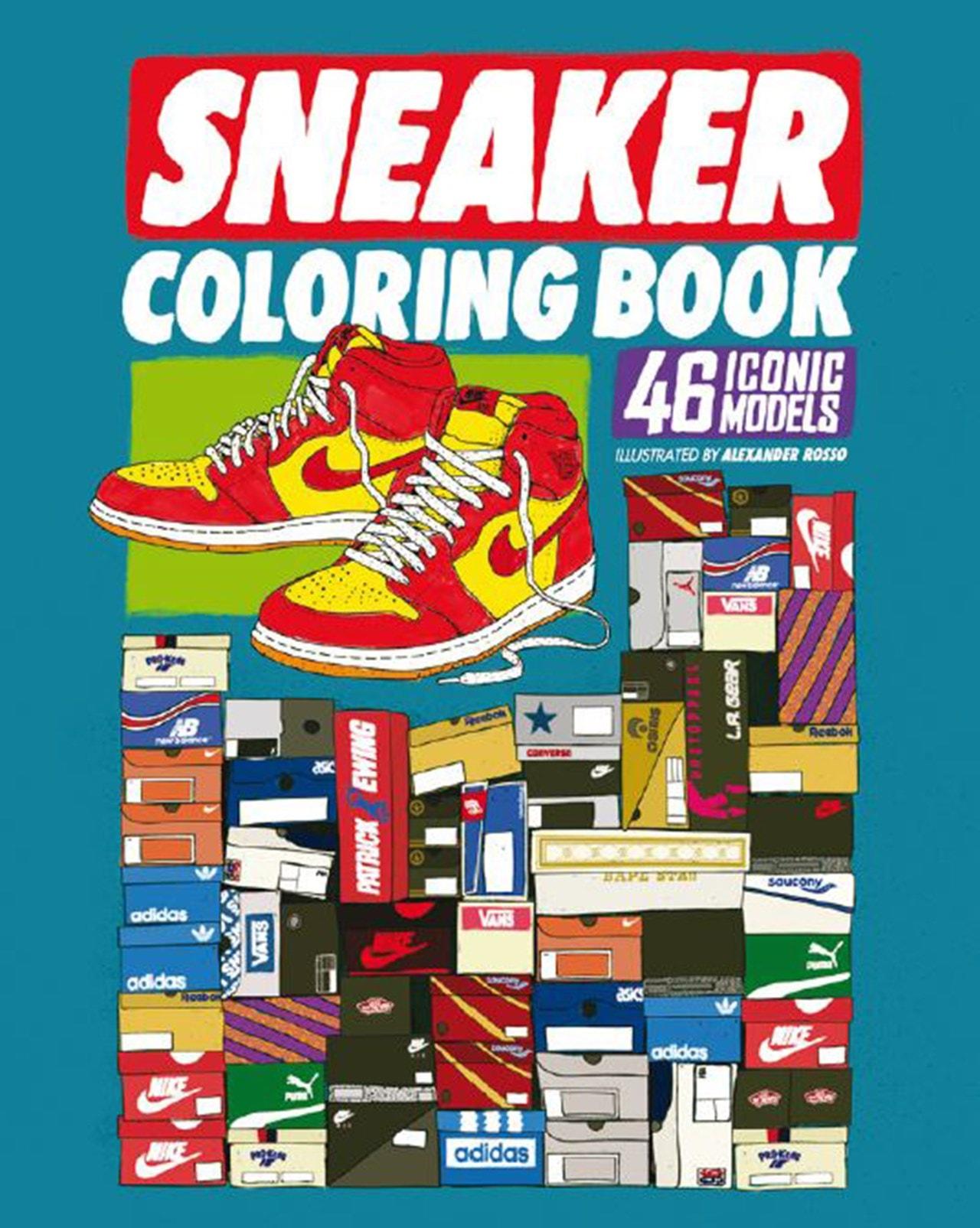 Sneaker: Colouring Book | Colouring