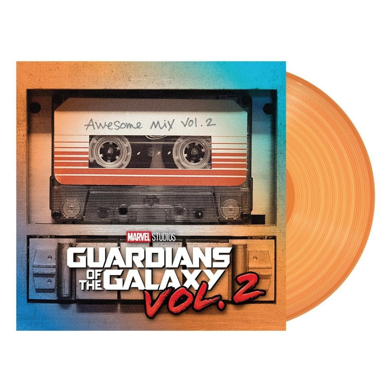 Guardians of the Galaxy: Awesome Mix, Vol. 2 - Orange Vinyl - 1