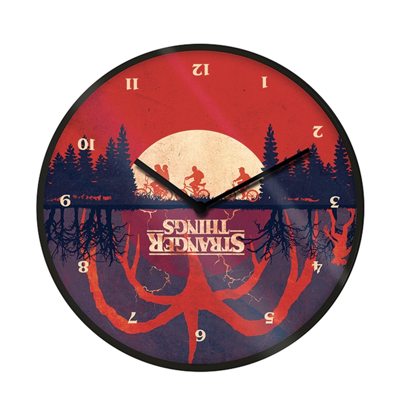 Upside Down: Stranger Things Clock - 1