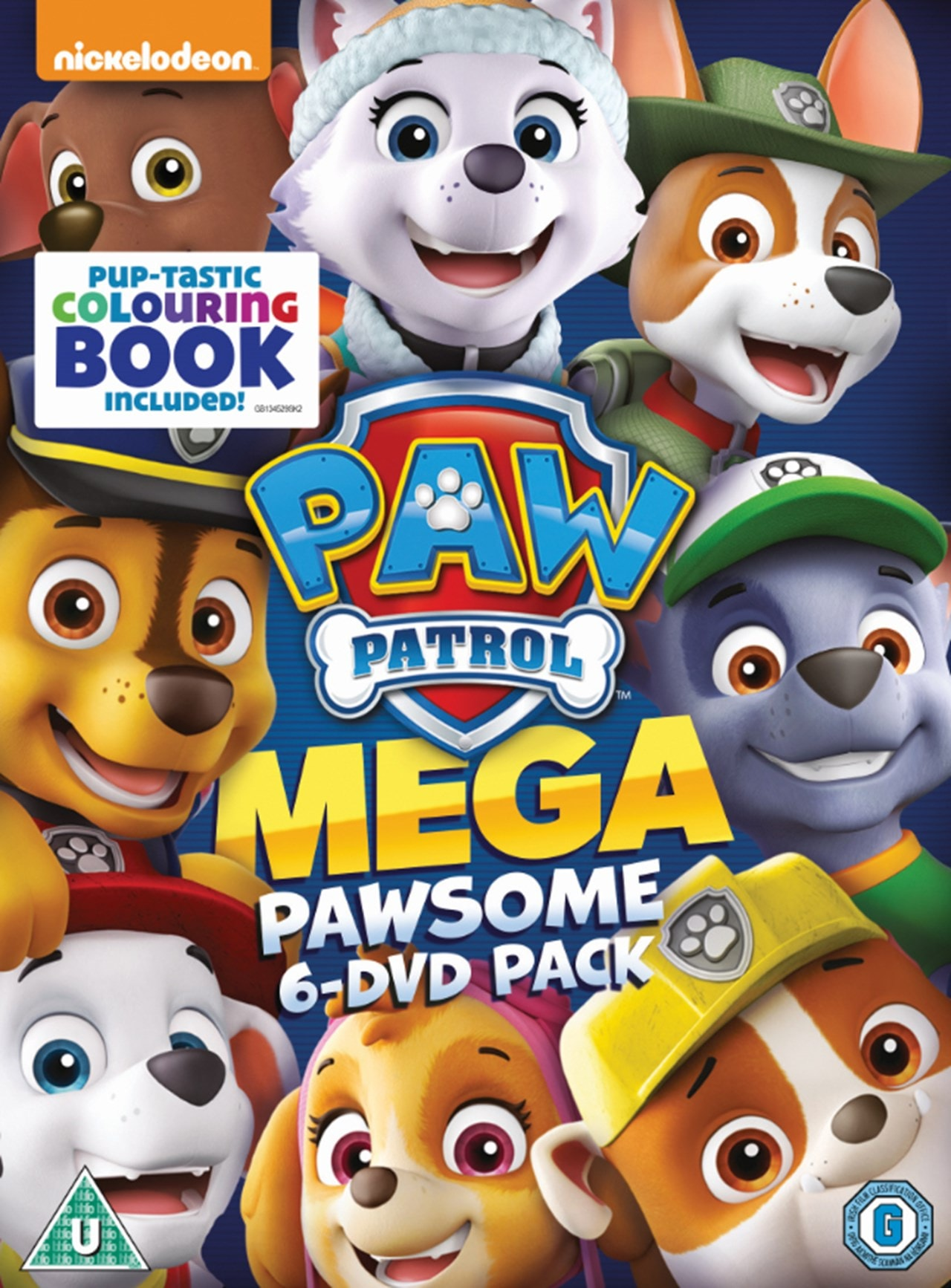 Paw Patrol: Mega Pawsome Pack - 1