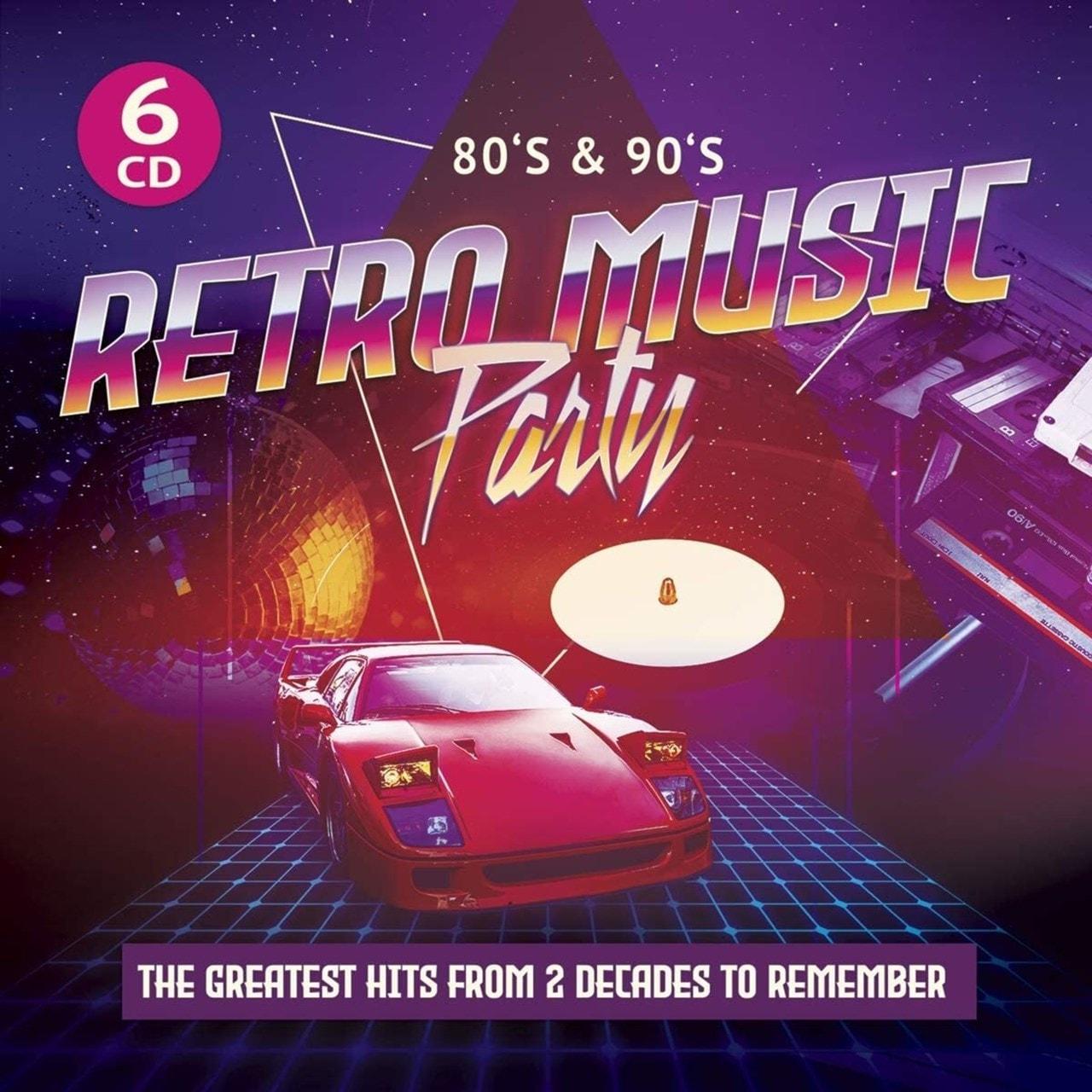 80's & 90's Retro Music Party - 1
