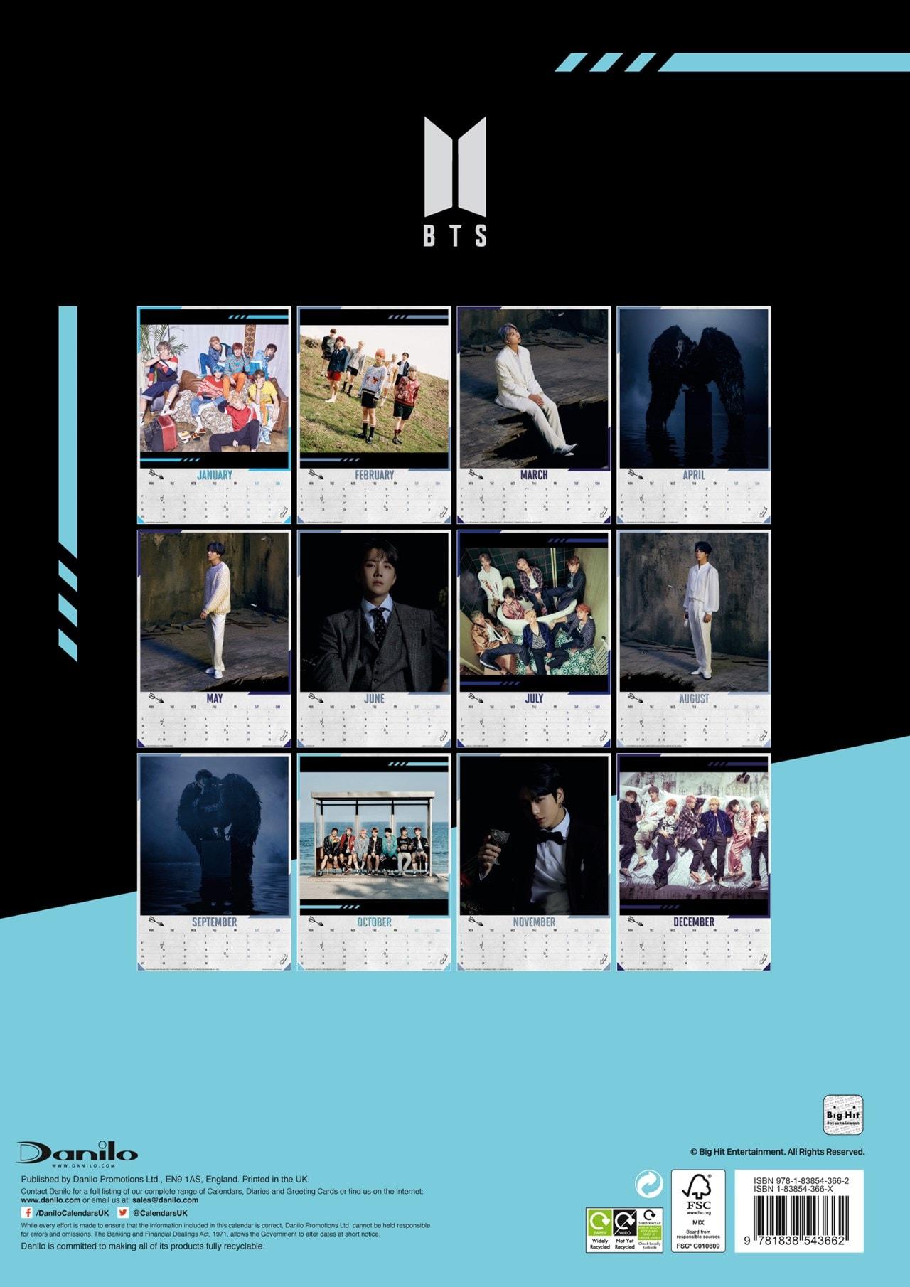 BTS: A3 2021 Calendar - 3