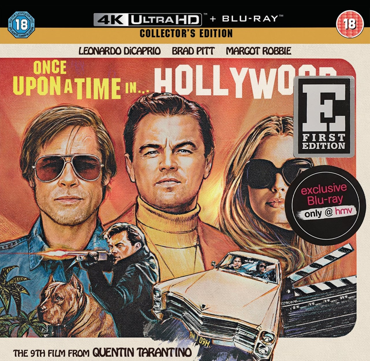 Once Upon a Time In... Hollywood (hmv Exclusive) - First Edition - 1