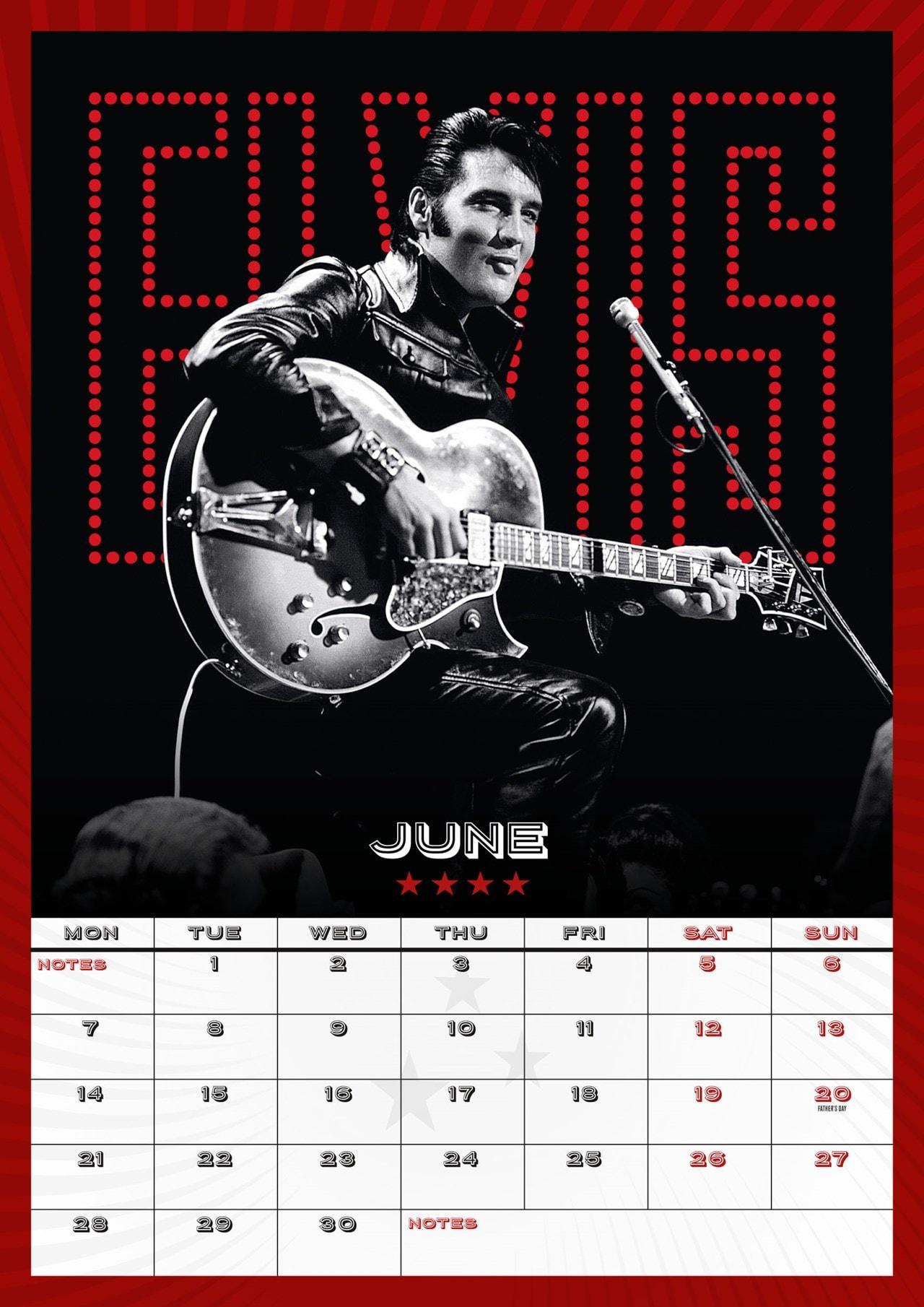 Elvis Presley: A3 2021 Calendar - 2