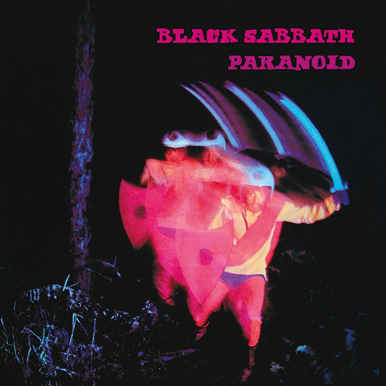Black Sabbath: Paranoid Canvas Print - 1