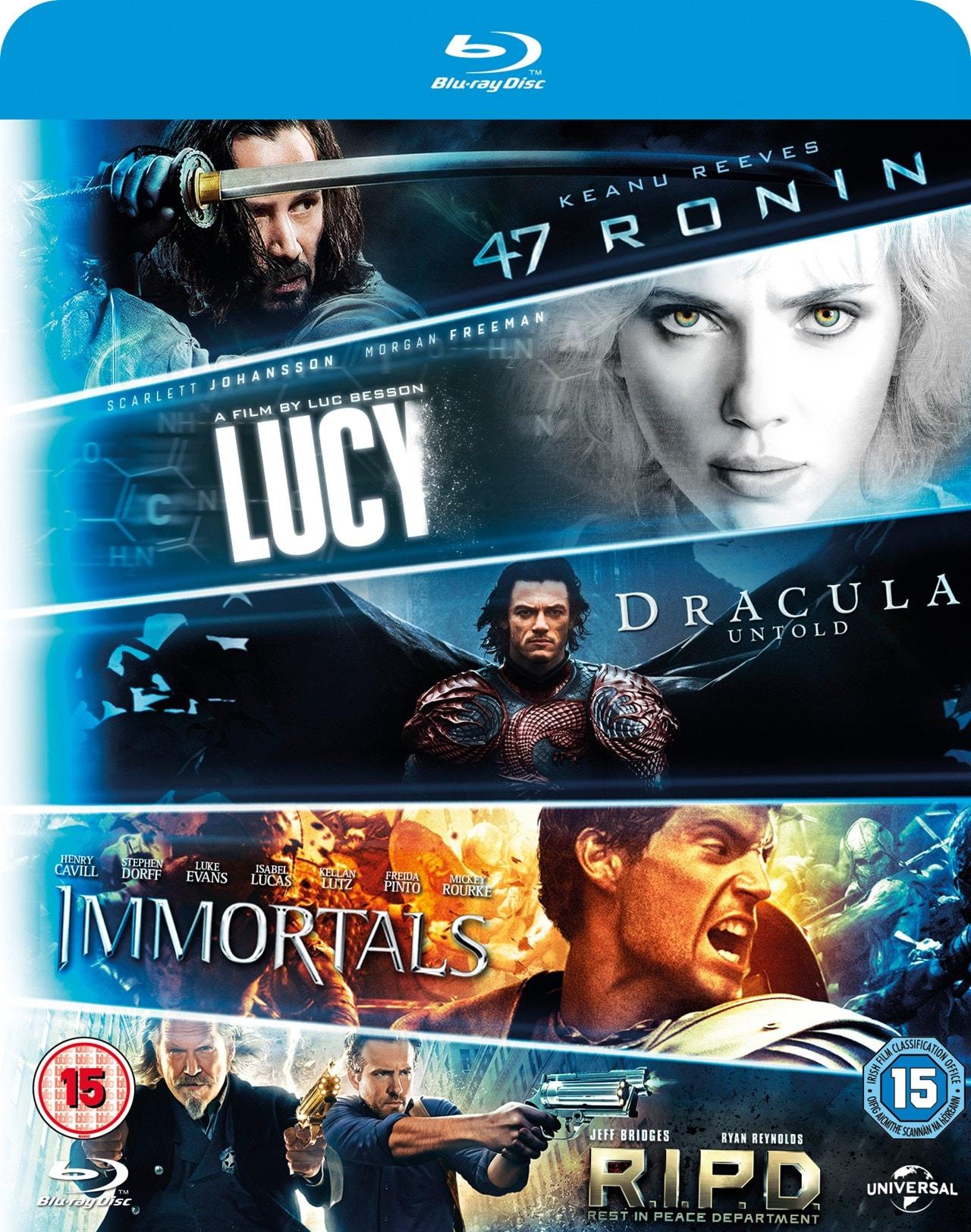 47 Ronin/R.I.P.D./Immortals/Dracula Untold/Lucy - 1