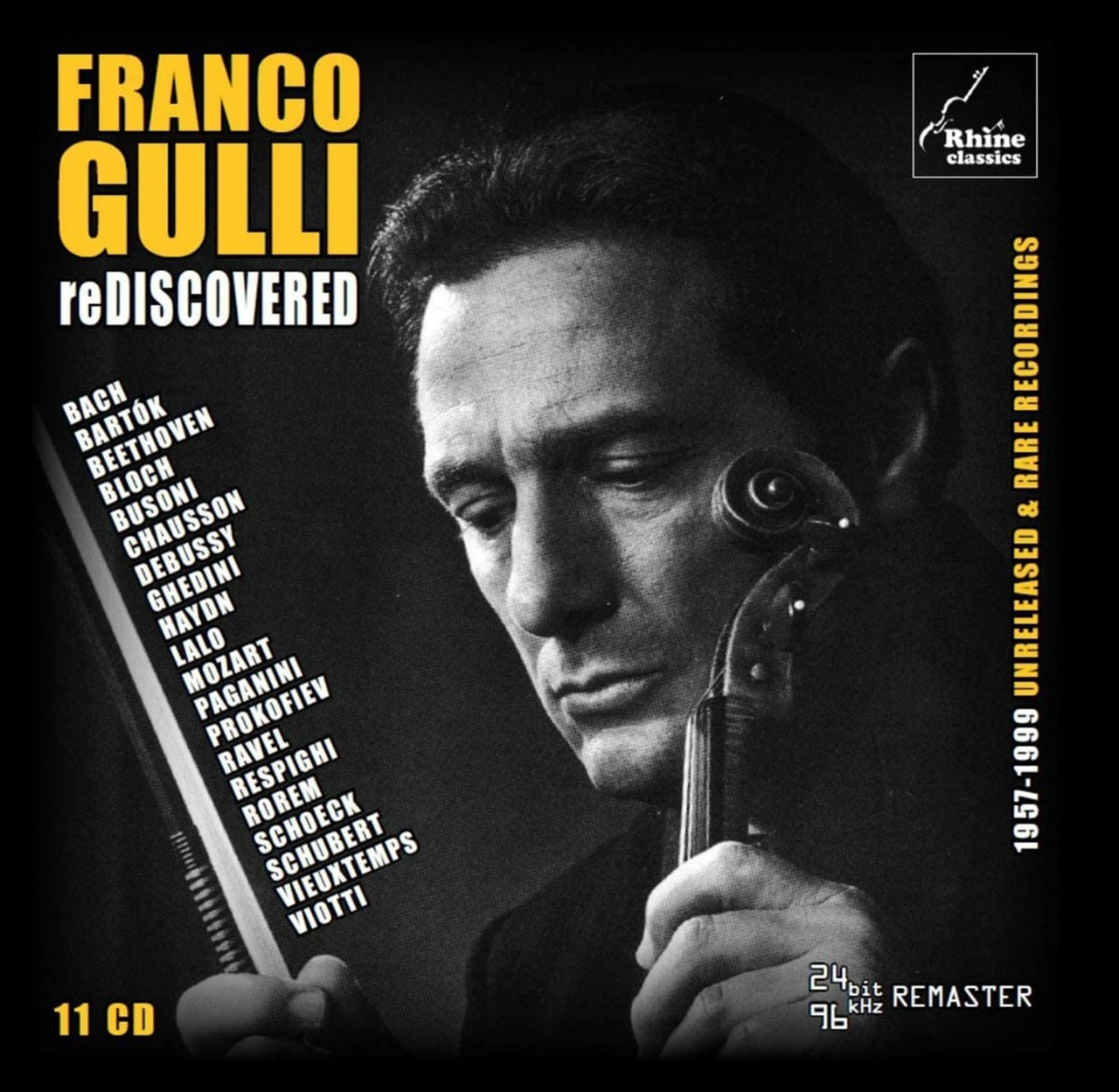 Franco Gulli: Rediscovered: 1957-1999 Unreleased & Rare Recordings - 1