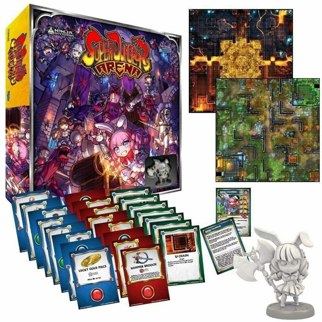 Super Dungeon Arena Board Game - 2