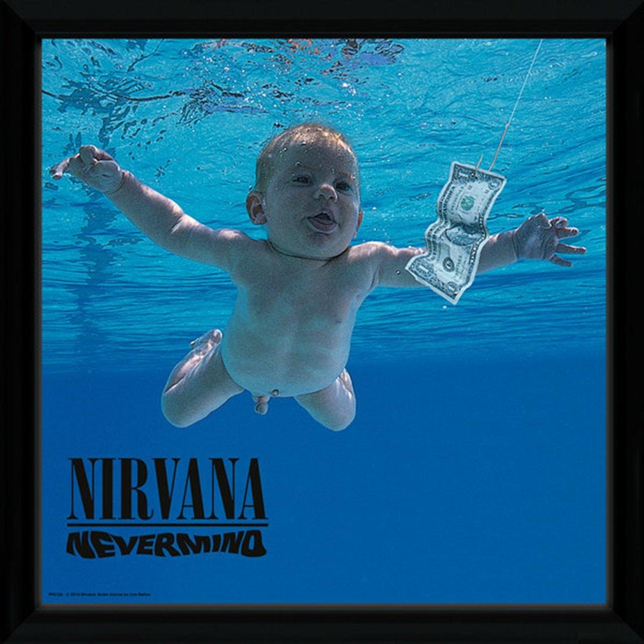 Nirvana Nevermind Framed Wall Art - 1