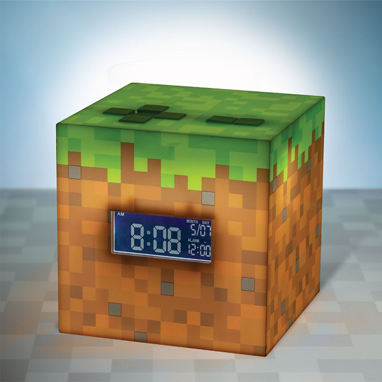 Minecraft Alarm Clock - 1