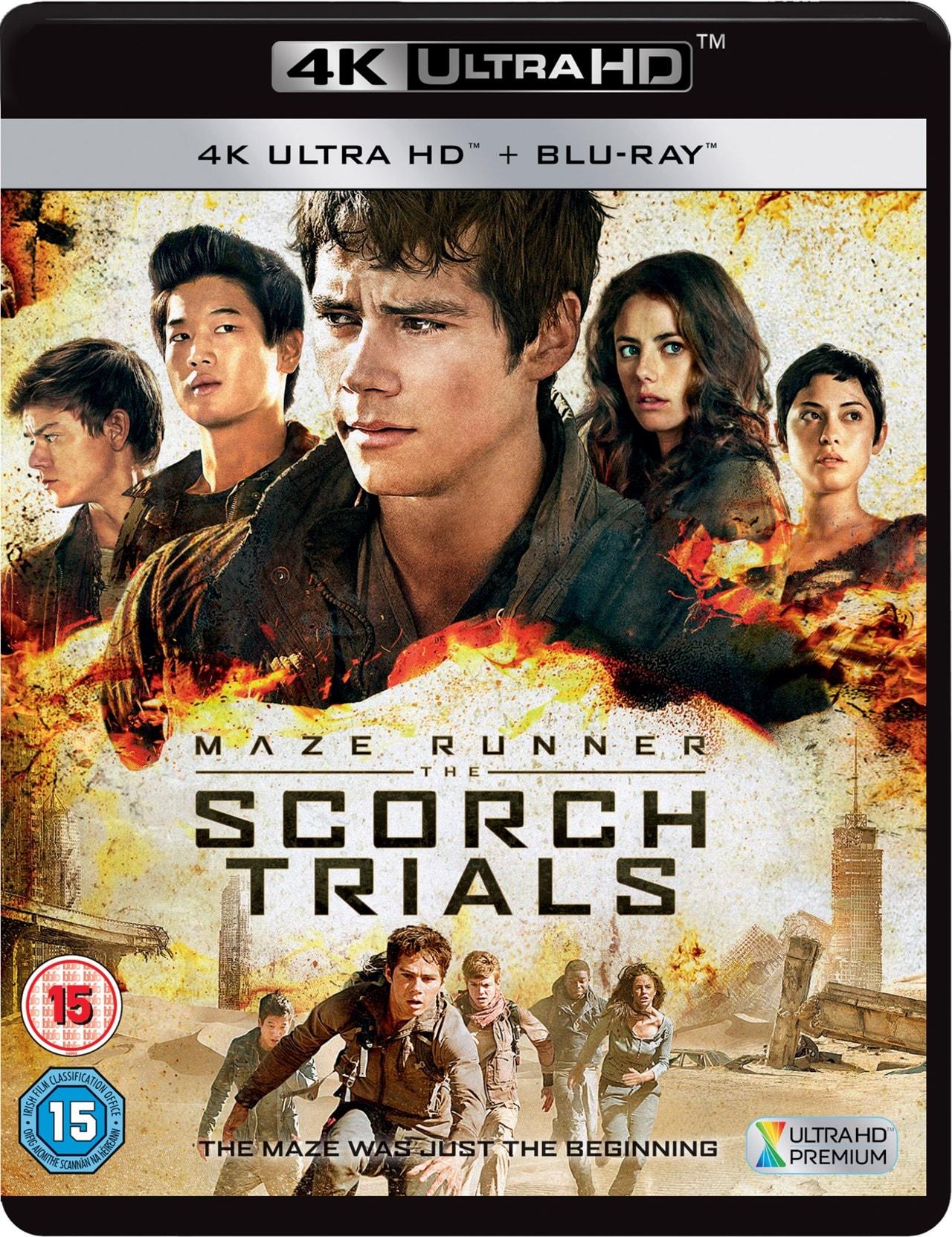 Maze Runner: Chapter II - The Scorch Trials - 1
