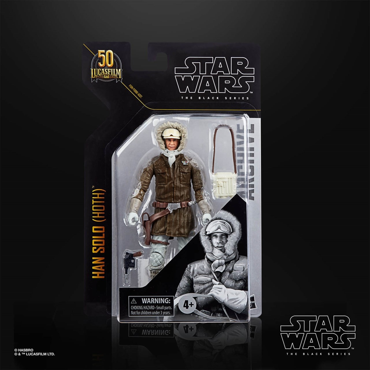 Han Solo (Hoth): Black Series Archive: Star Wars Action Figure - 6