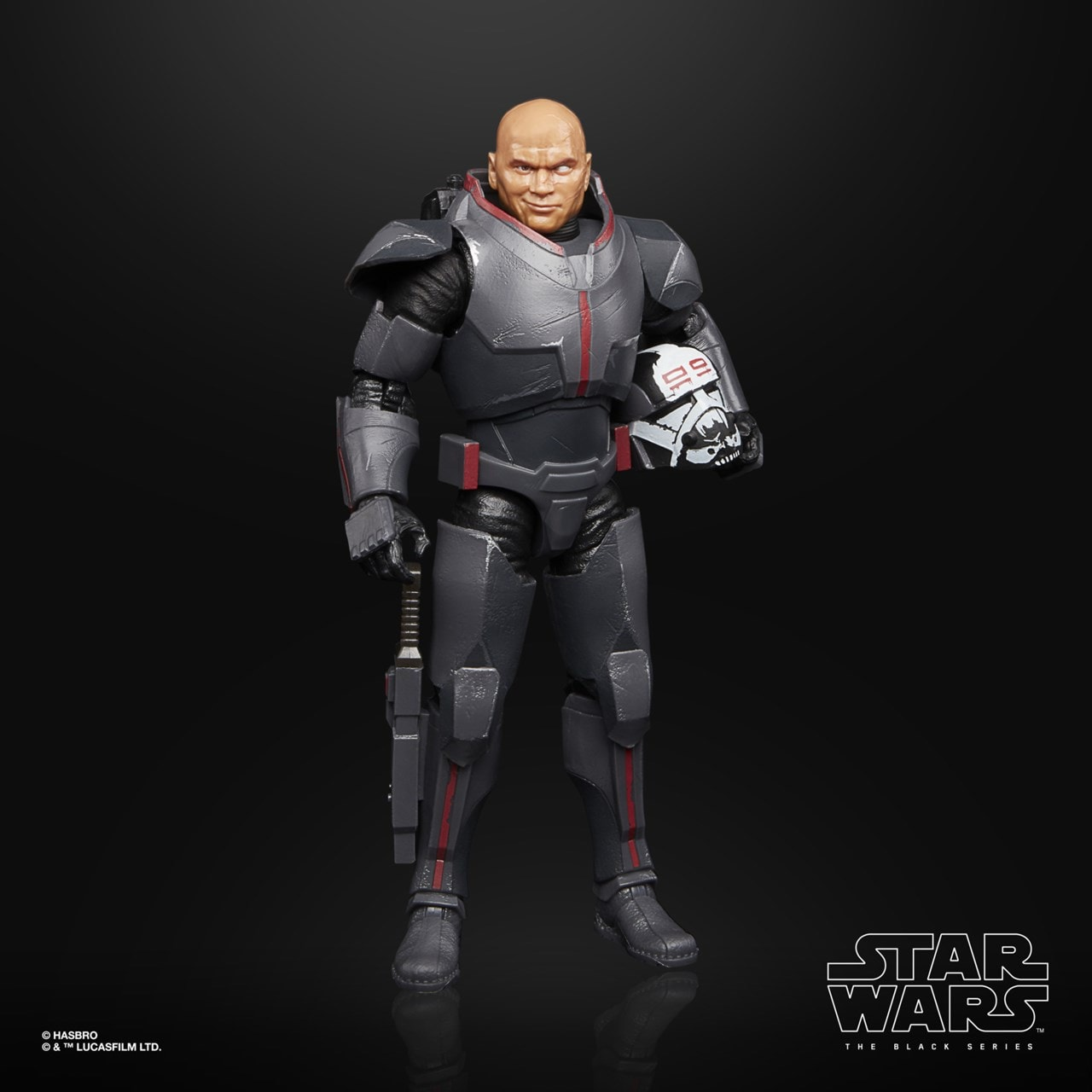 Wrecker: Bad Batch: Star Wars The Black Series Action Figure - 1
