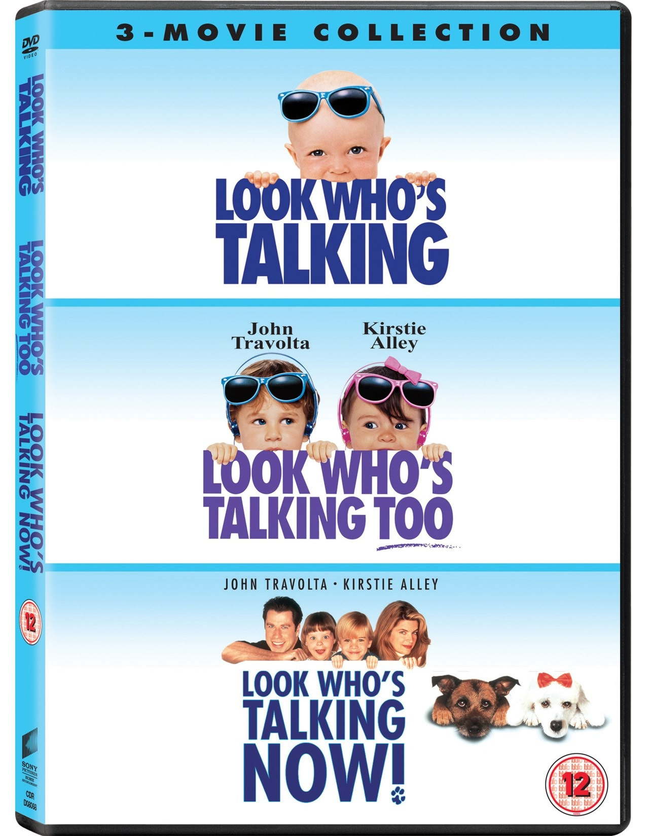 Look Who S Talking Look Who S Talking Too Look Who S Talking Now Dvd Box Set Free Shipping Over 20 Hmv Store