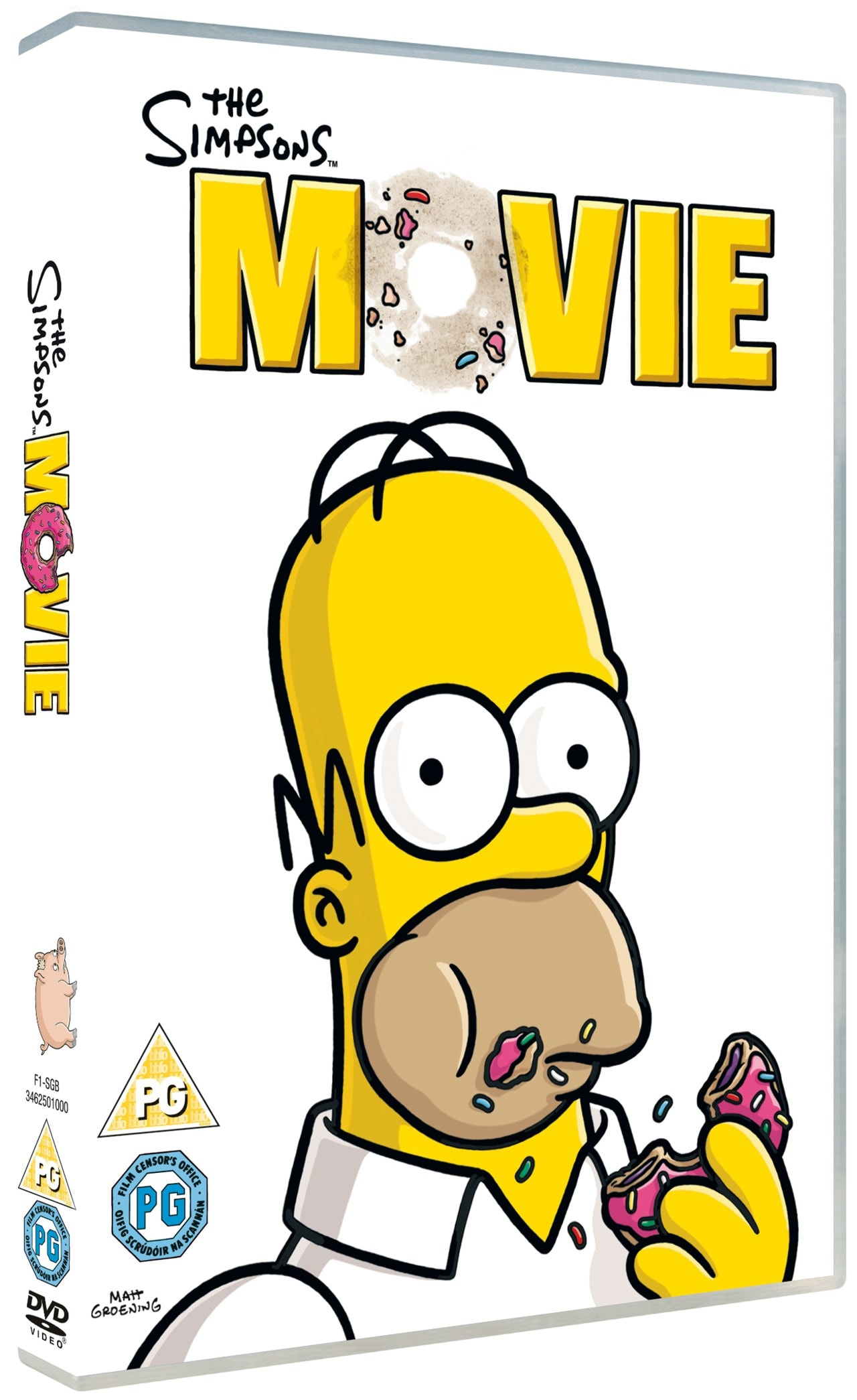 The Simpsons Movie Dvd Free Shipping Over 20 Hmv Store