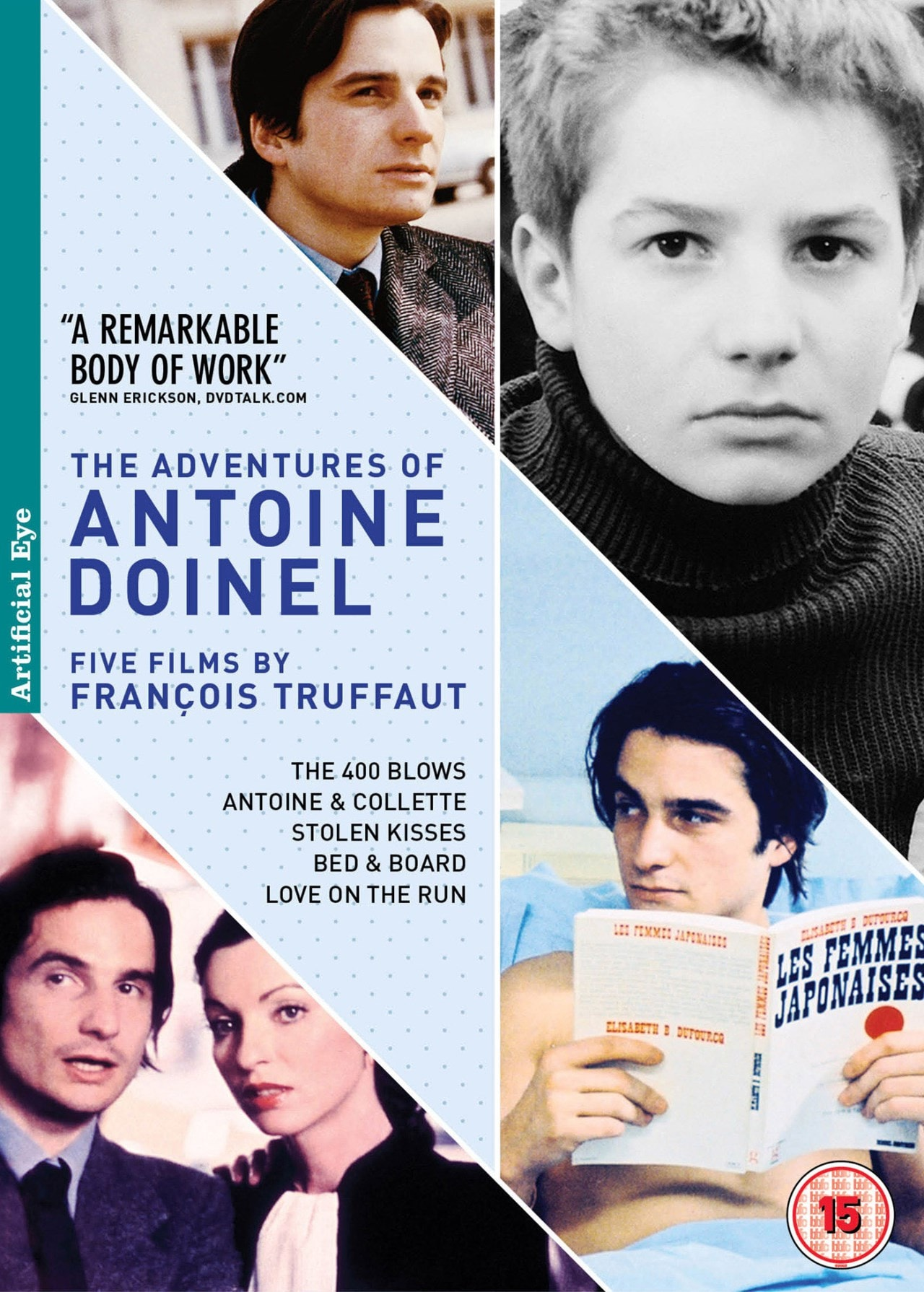 The Adventures of Antoine Doinel: Five Films By Francois Truffaut - 1