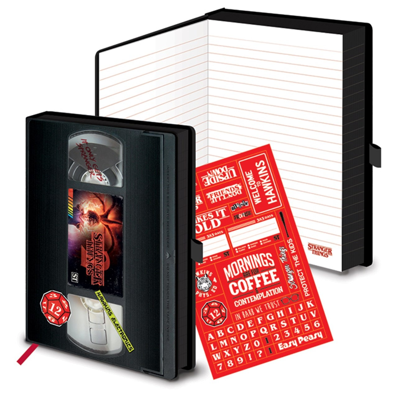 Stranger Things (S2) VHS A5 Premium Notebook - 2