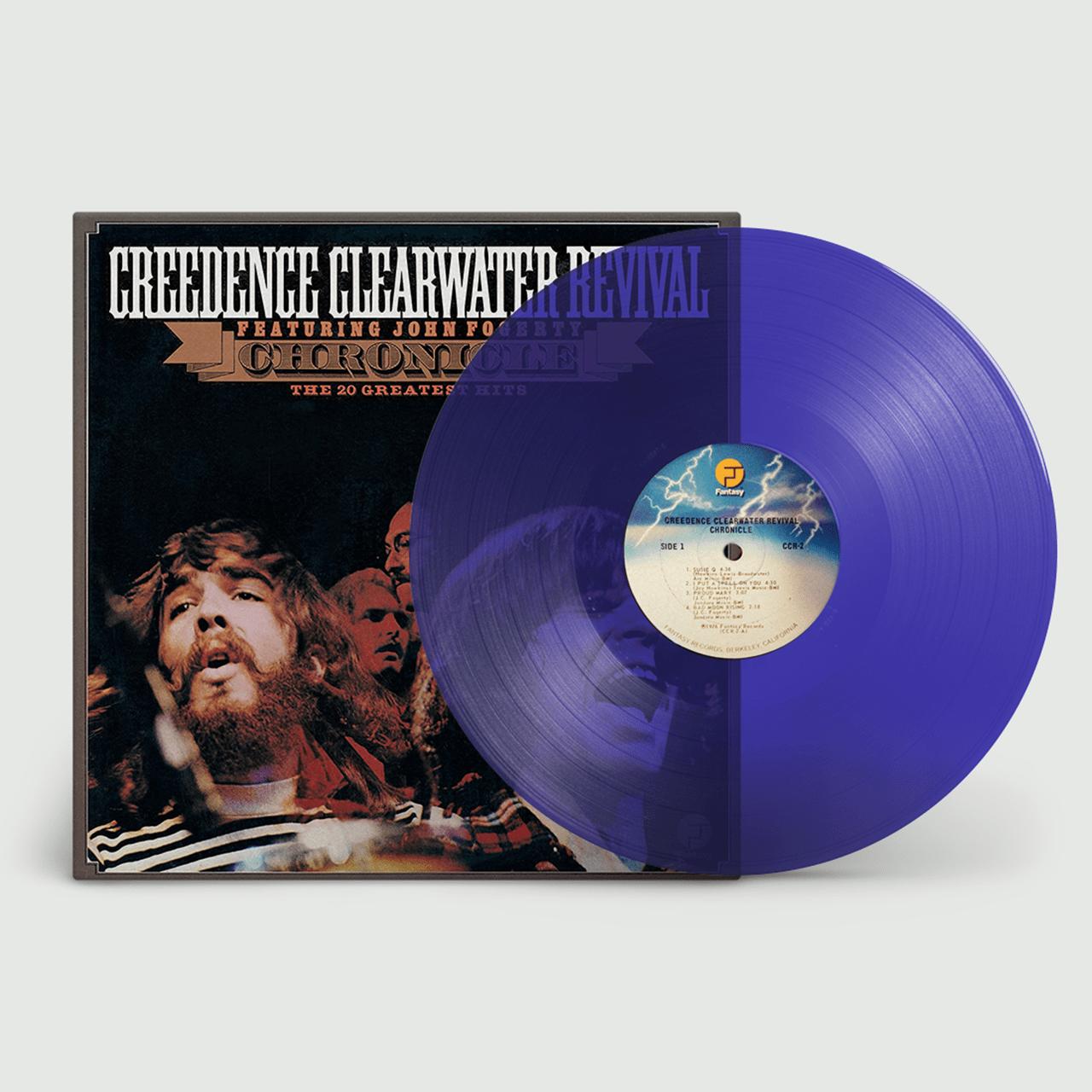 Chronicle: 20 Greatest Hits - Transparent Blue Vinyl - 1