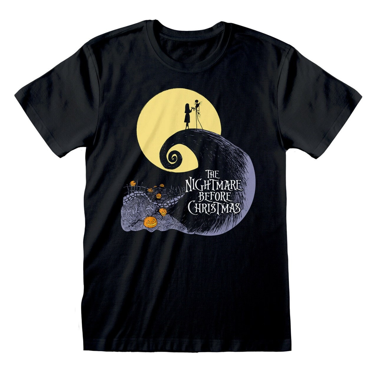 The Nightmare Before Christmas: Silhouette Moon (Small) - 1