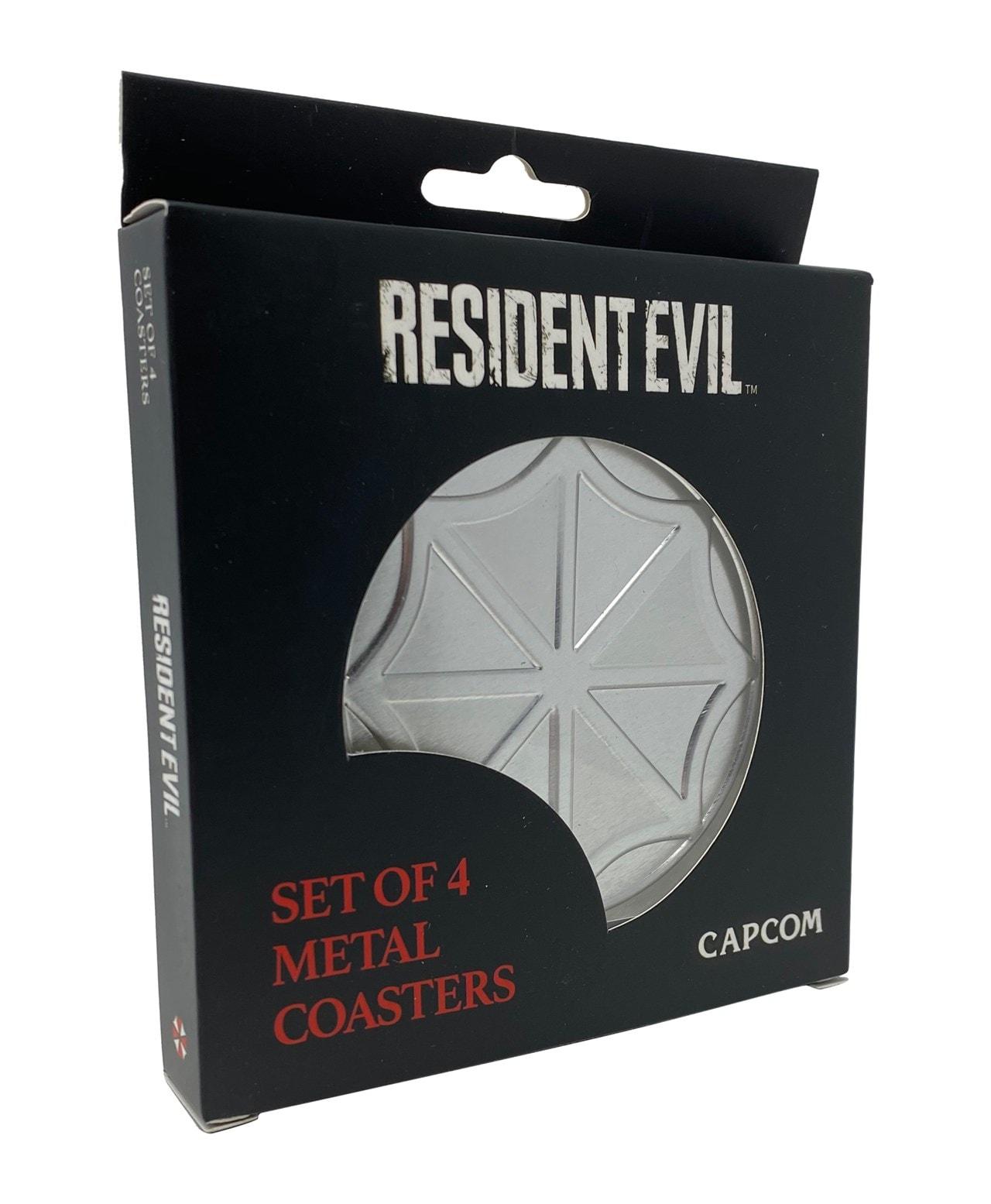 Resident Evil: Metal Embossed Coaster Set - 2