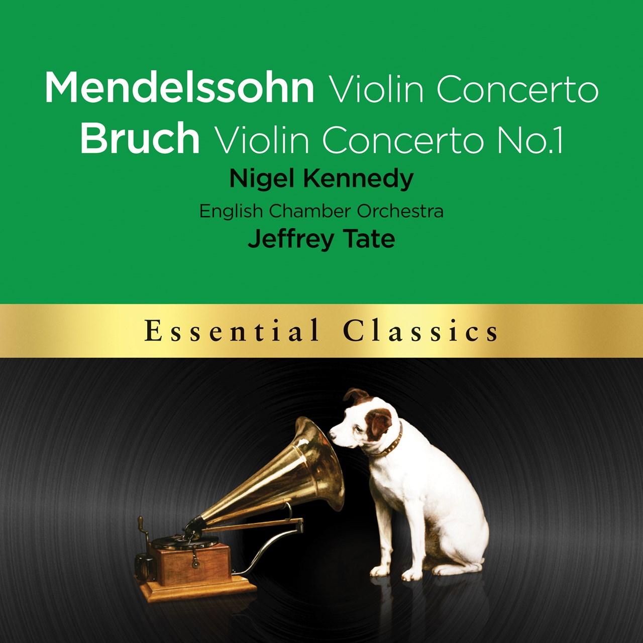 Mendelssohn: Violin Concerto/Bruch: Violin Concerto No. 1 - 1