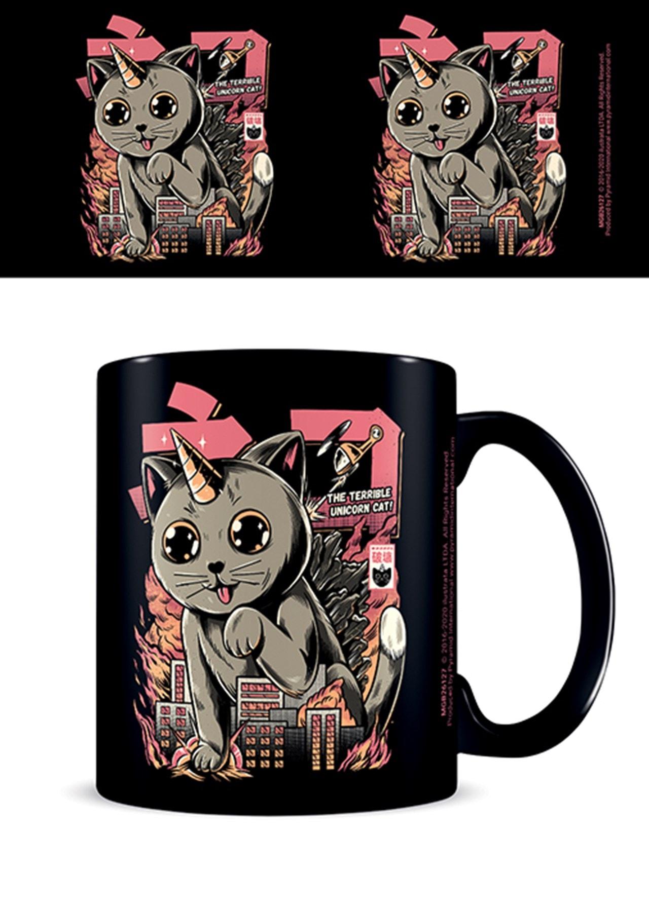 Catzilla: Ilustrata Coffee Mug - 1