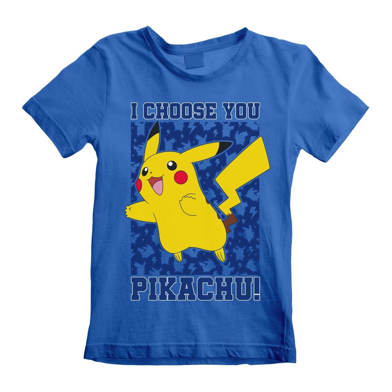 Pokemon: I Choose You! (Kids Tee) (3-4YR) - 1