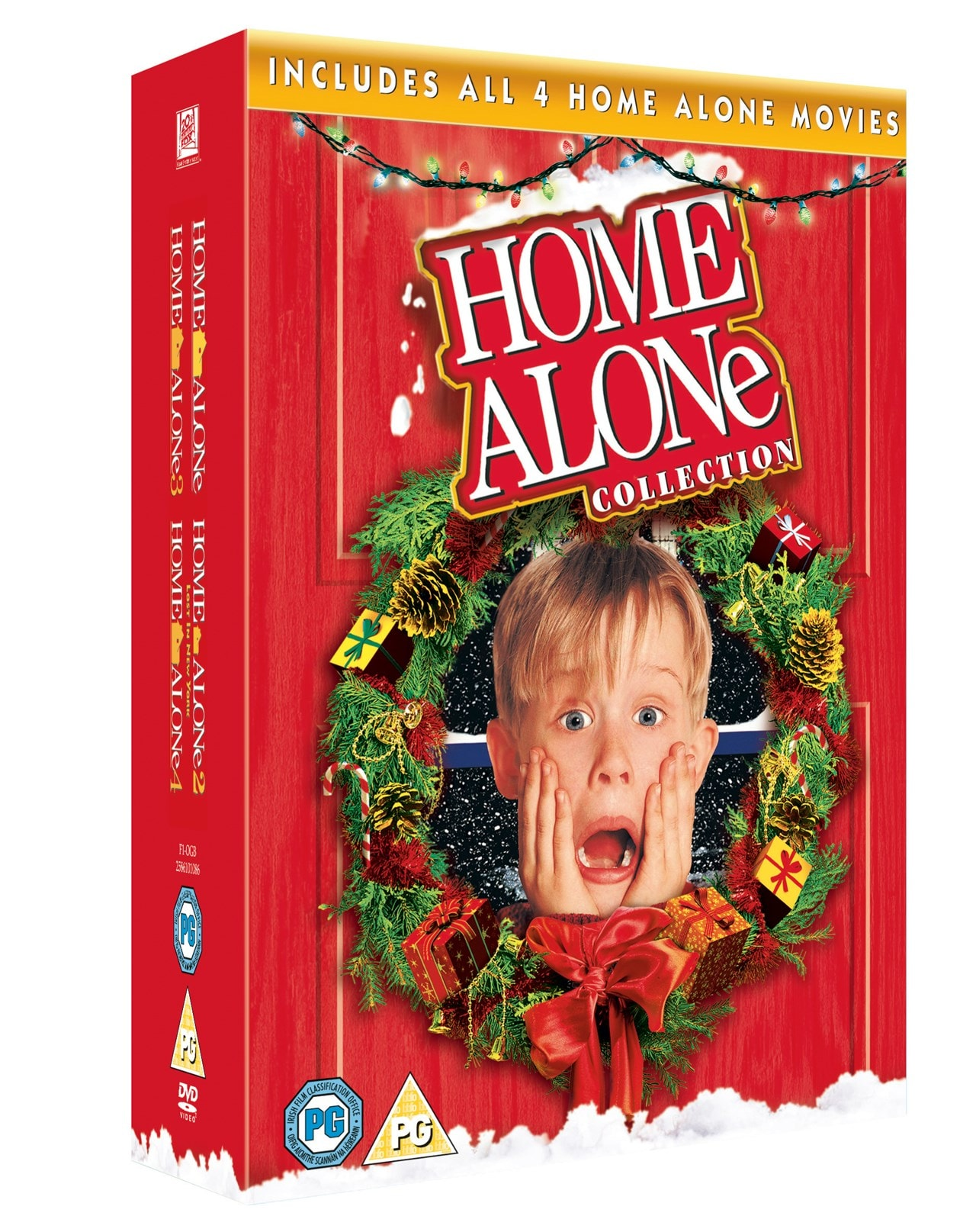 Home Alone/Home Alone 2 /Home Alone 3/Home Alone 4 - 2