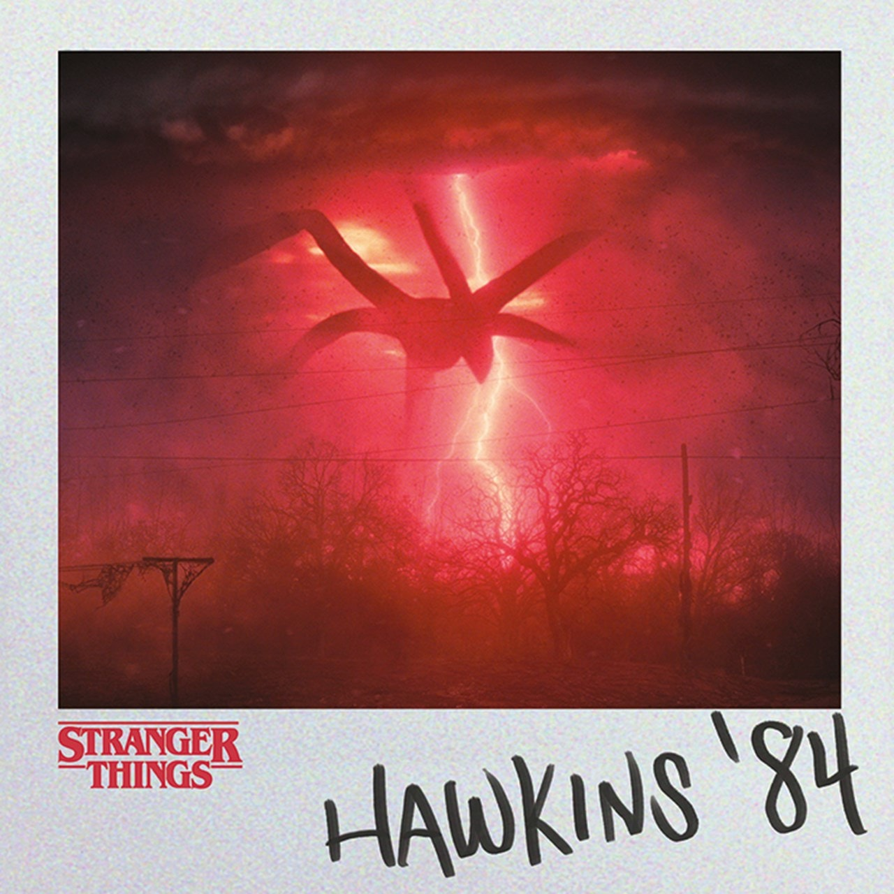 Hawkins 84: Stranger Things Canvas Print - 1