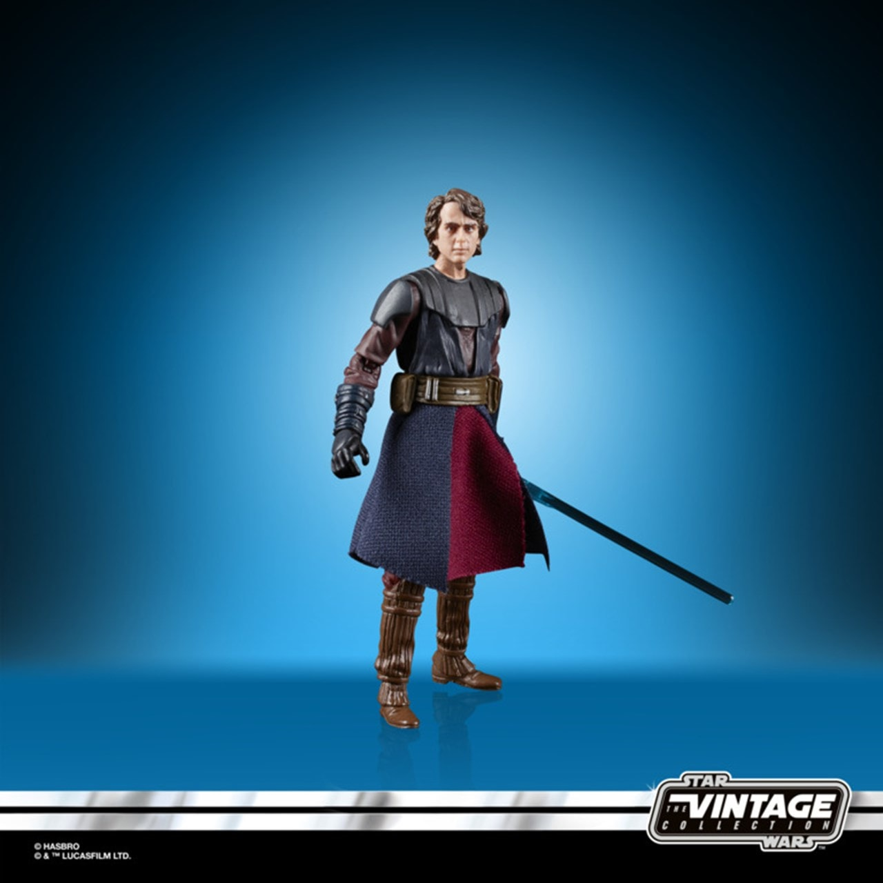 Anakin Skywalker: Clone Wars: Star Wars Vintage Action Figure - 1