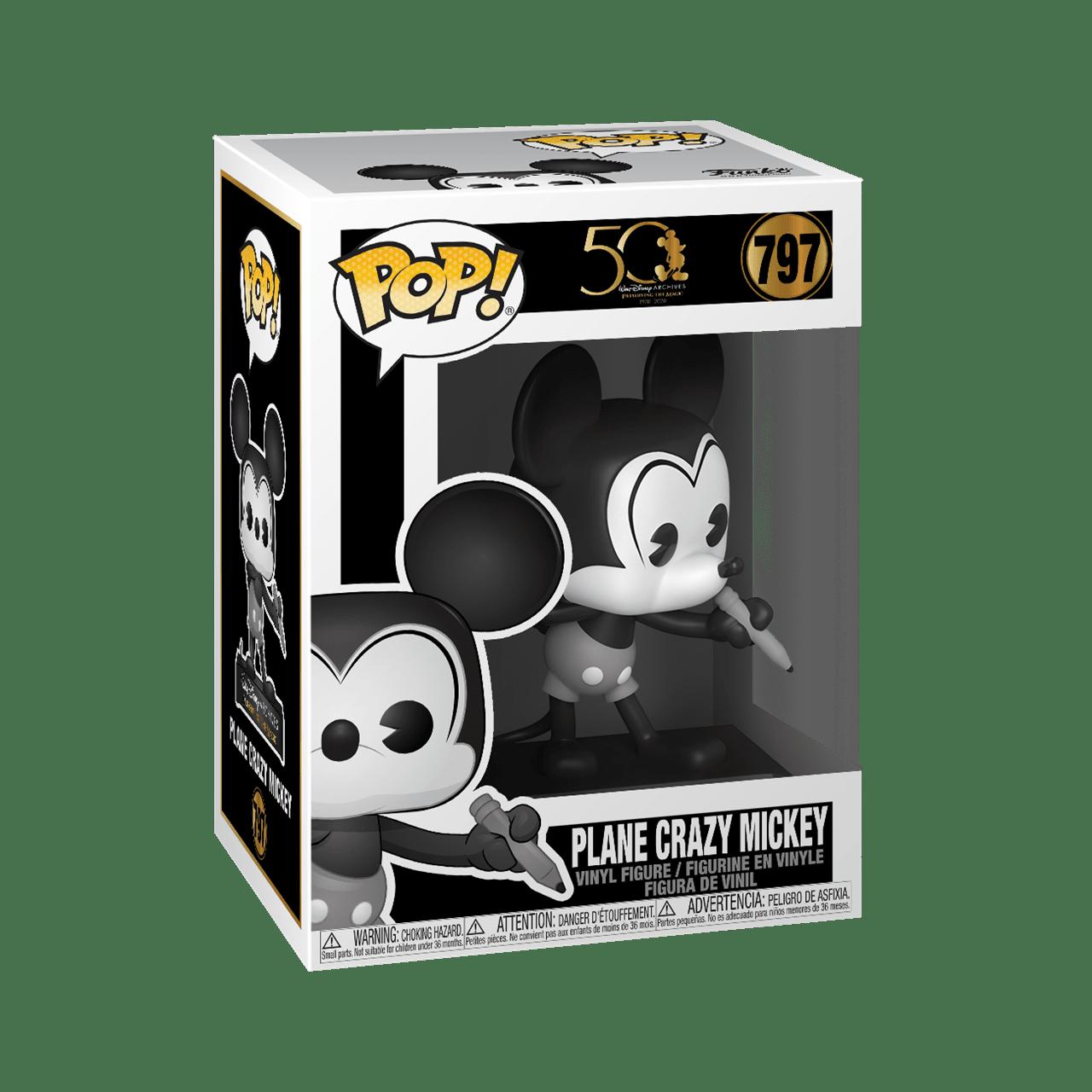 Black & White Mickey Mouse (797) Disney Archives Pop Vinyl - 2