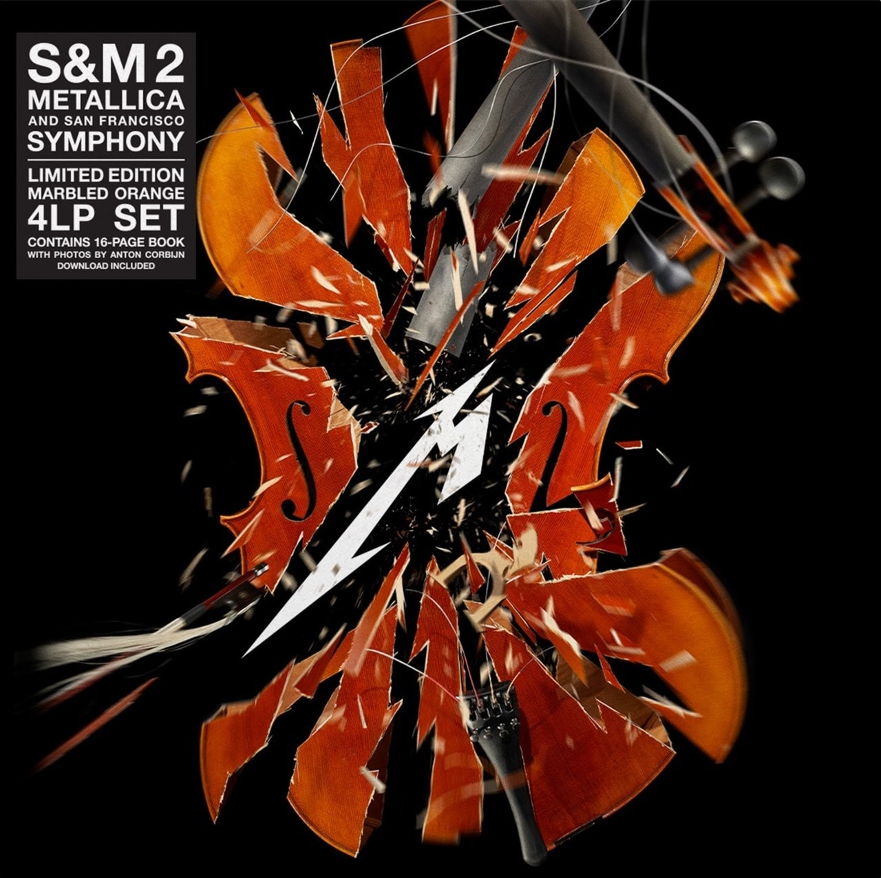 S&M2 - Limited Edition Orange Vinyl - 2