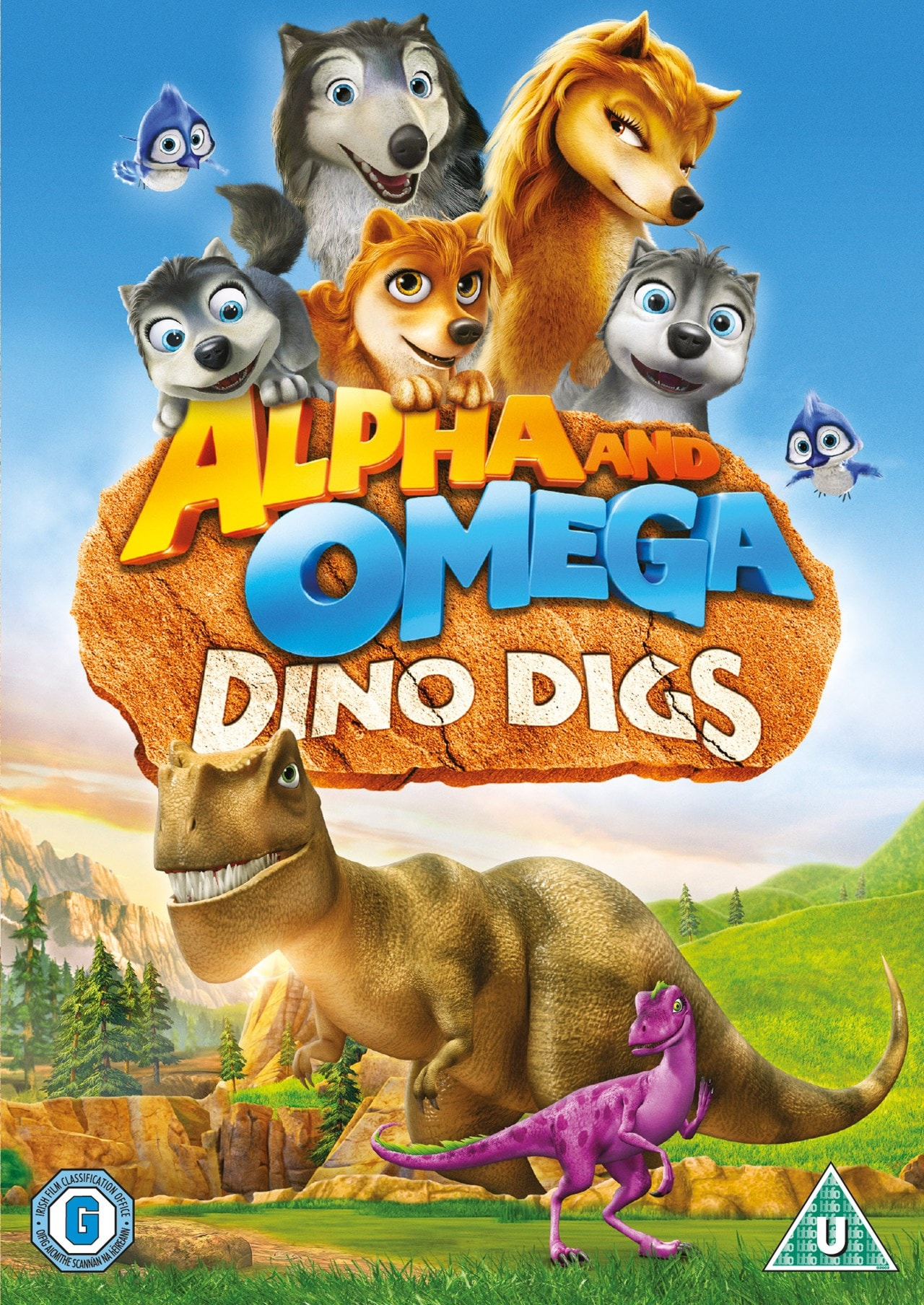 Alpha and Omega: Dino Digs - 1